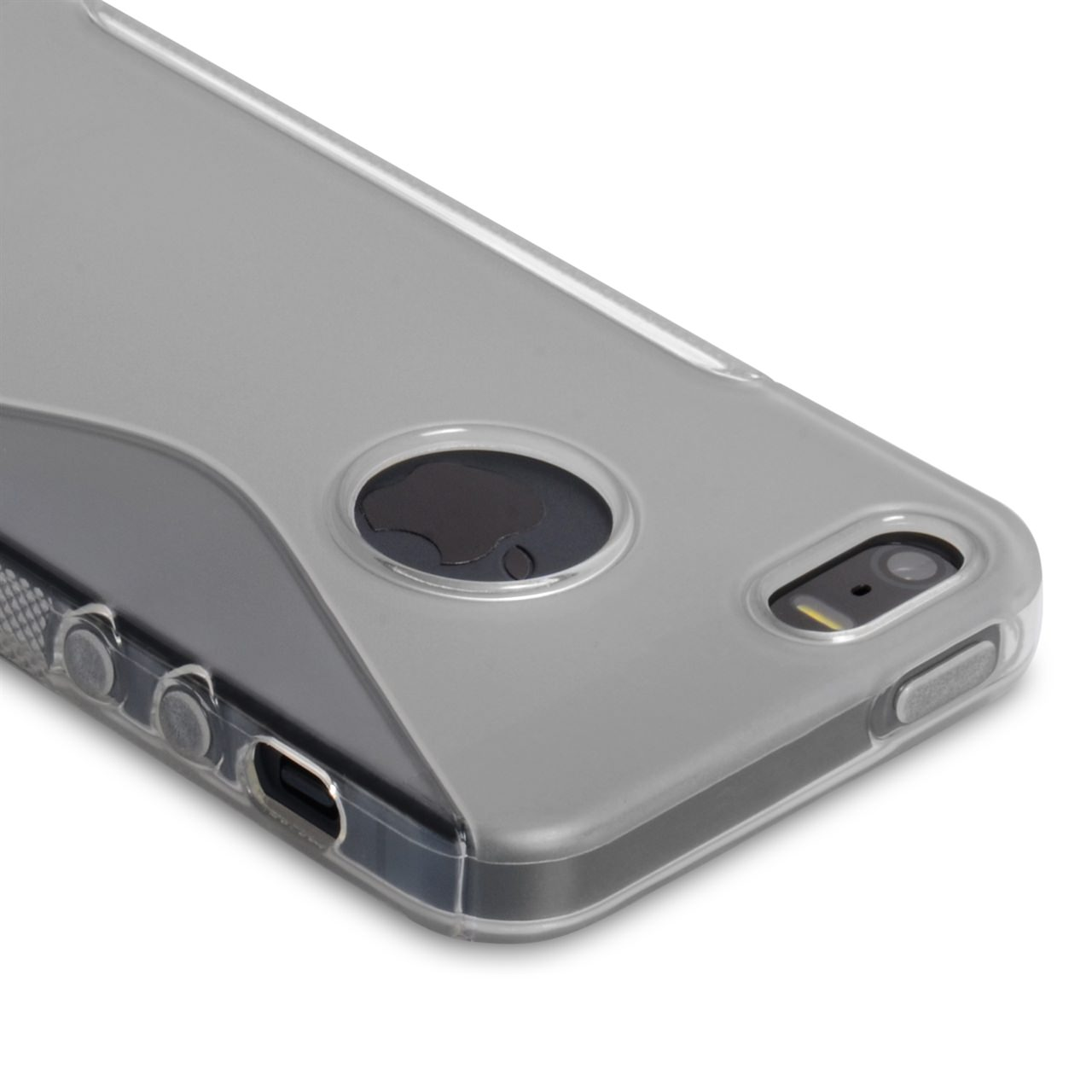 Caseflex iPhone 5 / 5S S-Line Gel Case - Clear