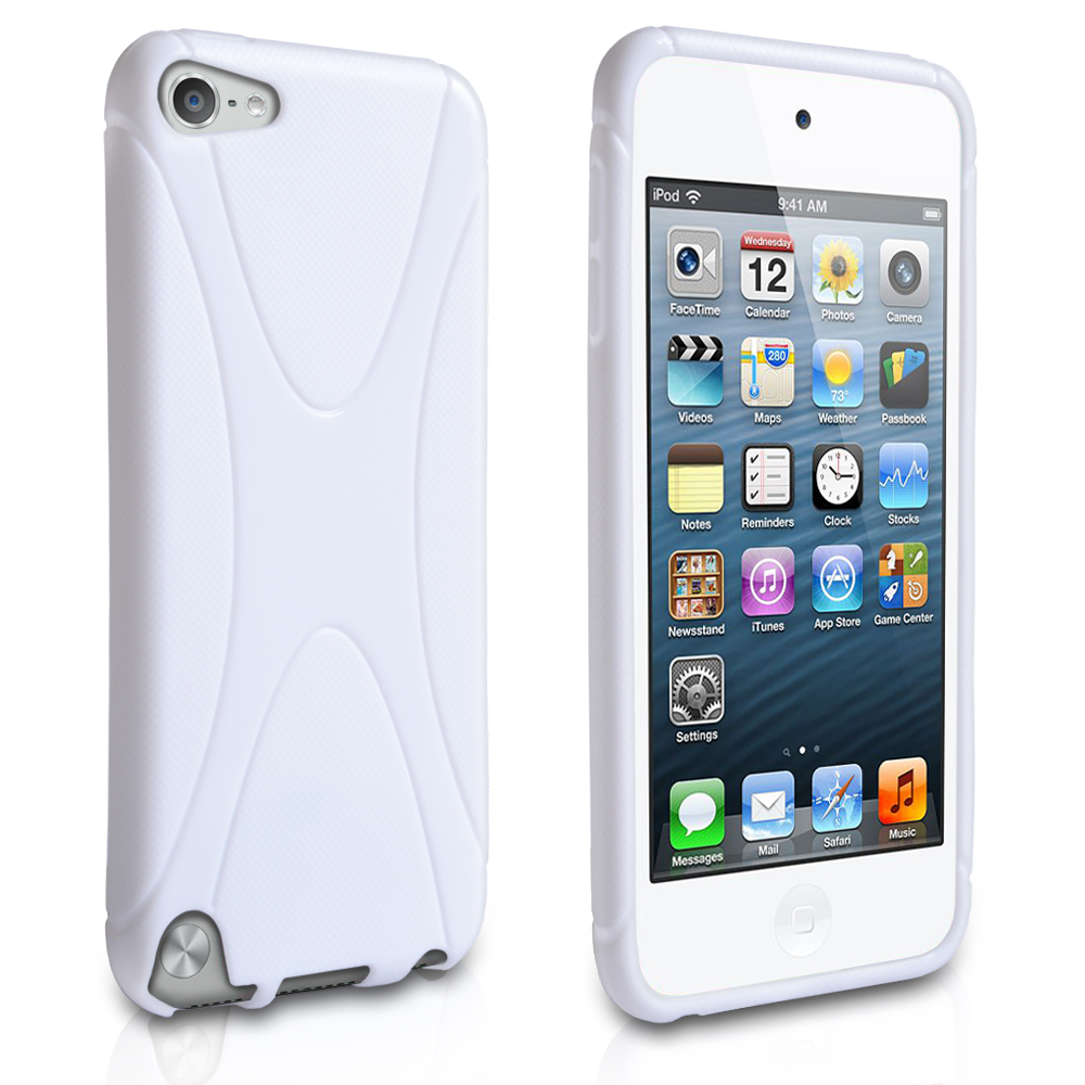 YouSave Accessories iPod Touch 5G White X-Line Gel Case