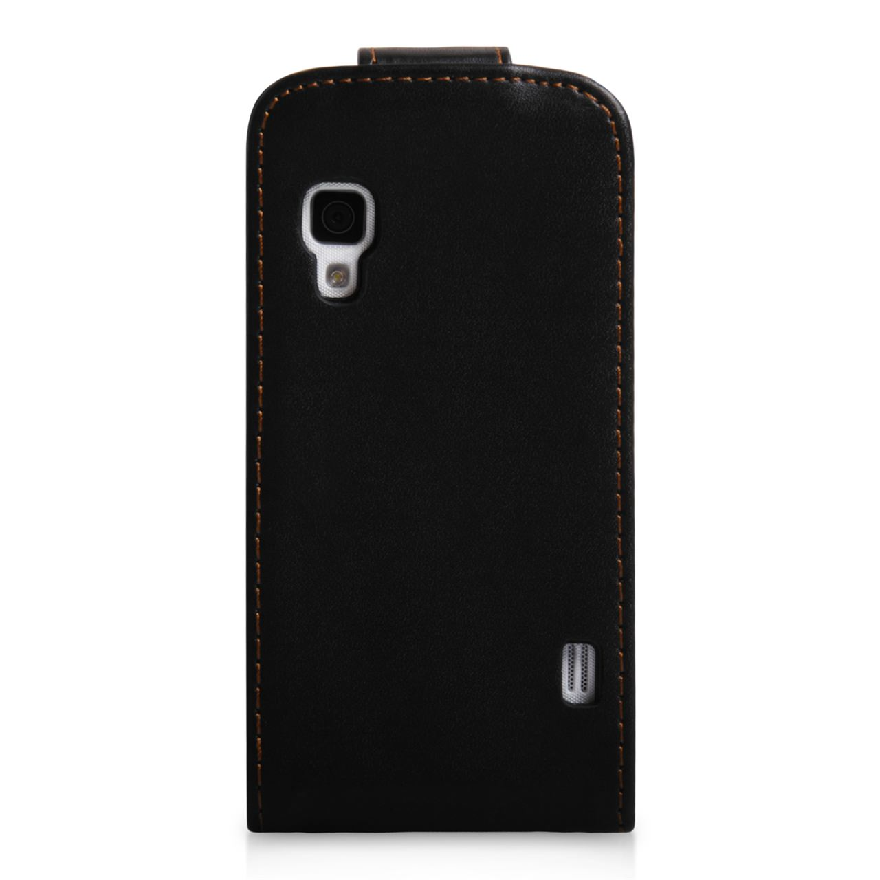 YouSave Accessories LG Optimus L5 II Black Leather Effect Flip Case