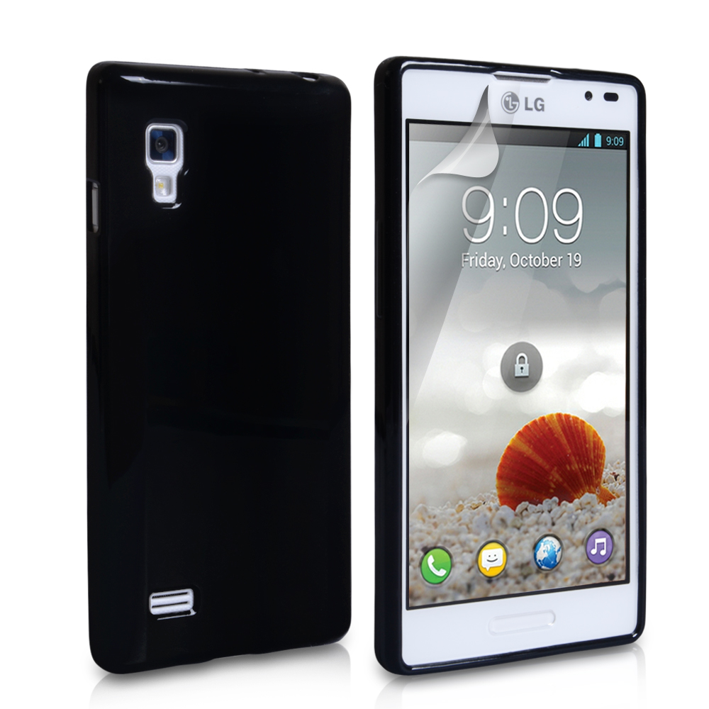 YouSave Accessories LG Optimus L9 Black Gel Case