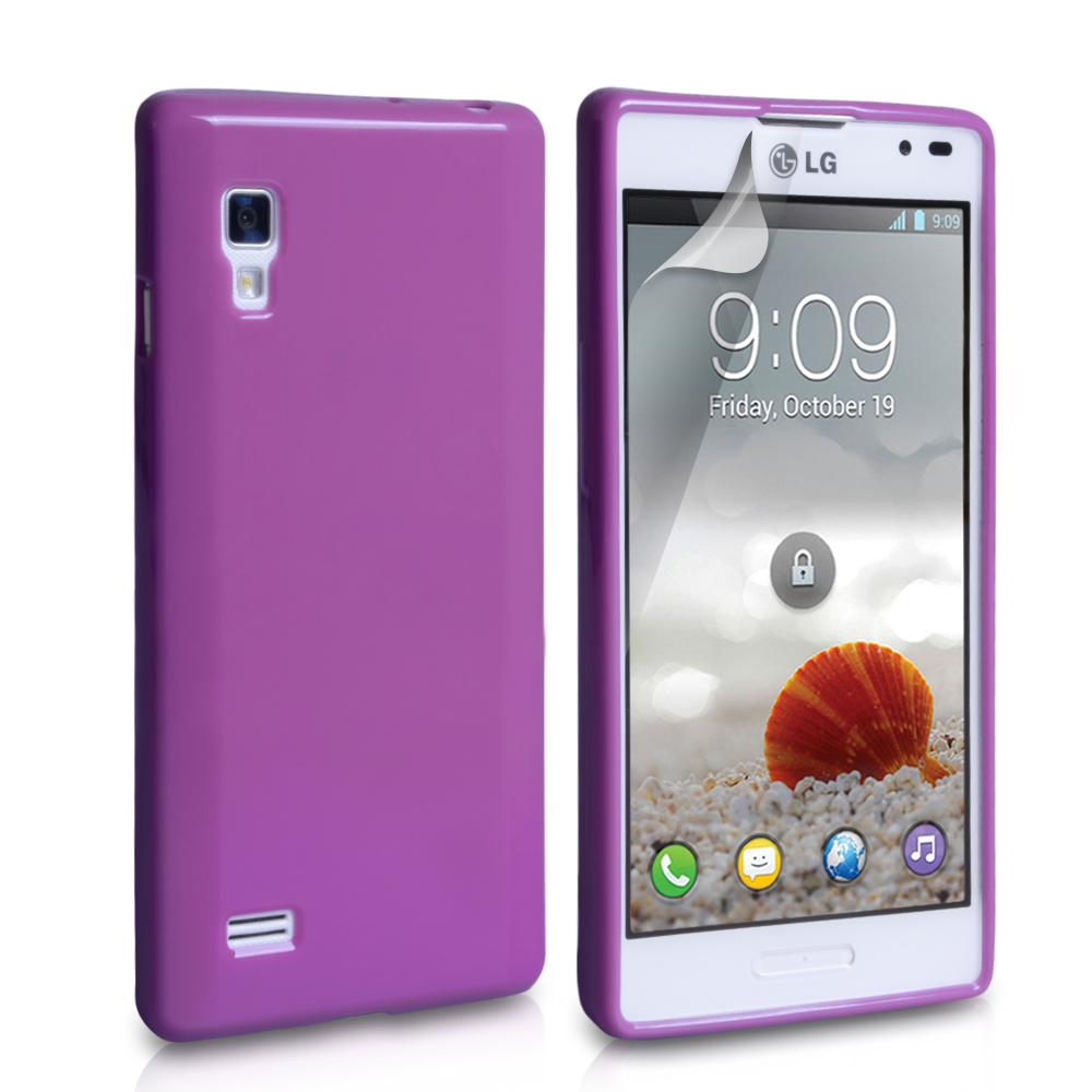 YouSave Accessories LG Optimus L9 Purple Gel Case