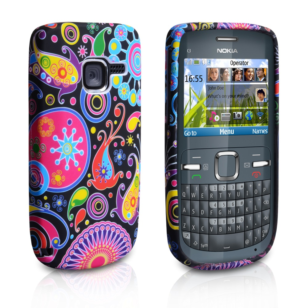 YouSave Accessories Nokia C3 Jellyfish Silicone Gel Case