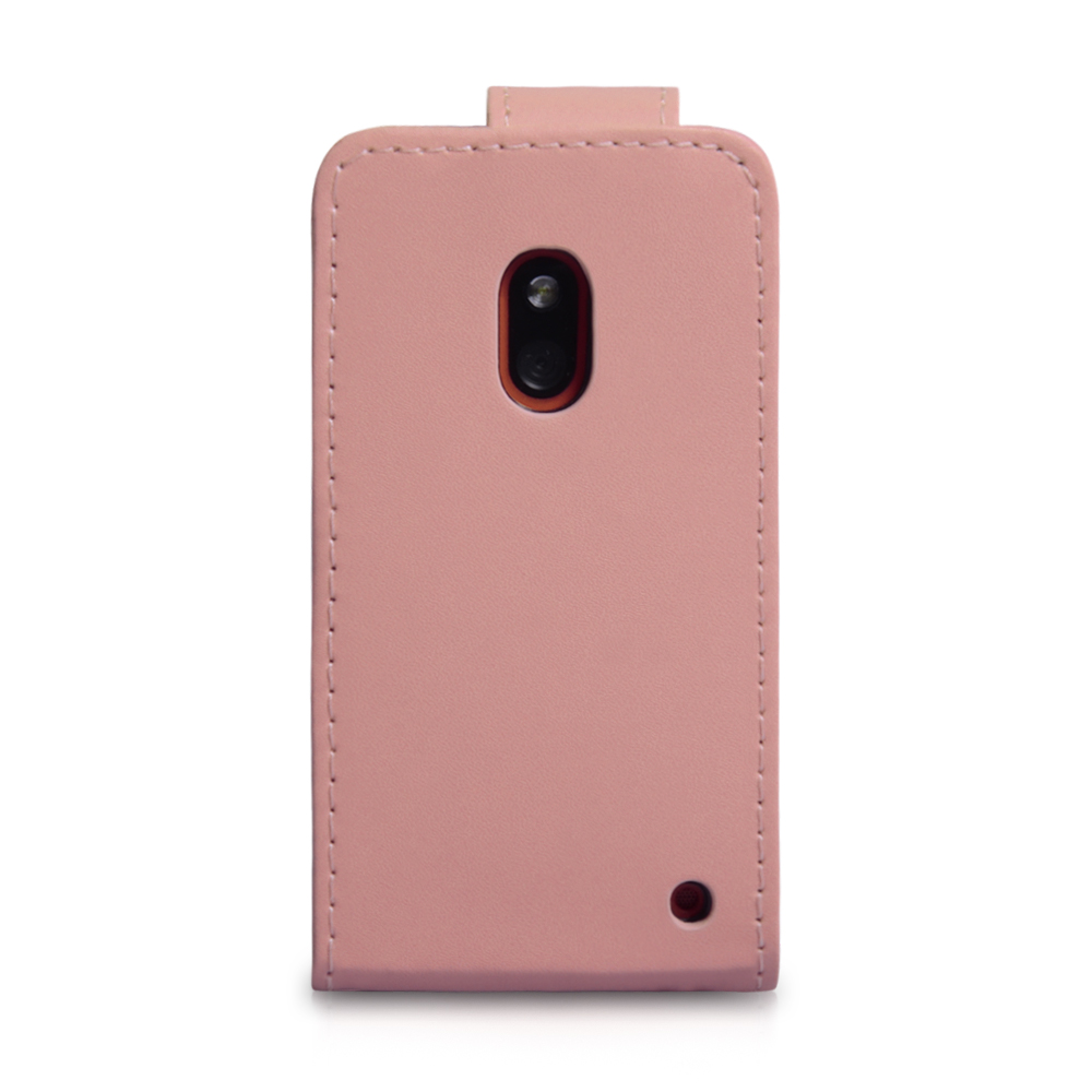 YouSave Nokia Lumia 620 Leather Effect Flip Case - Baby Pink