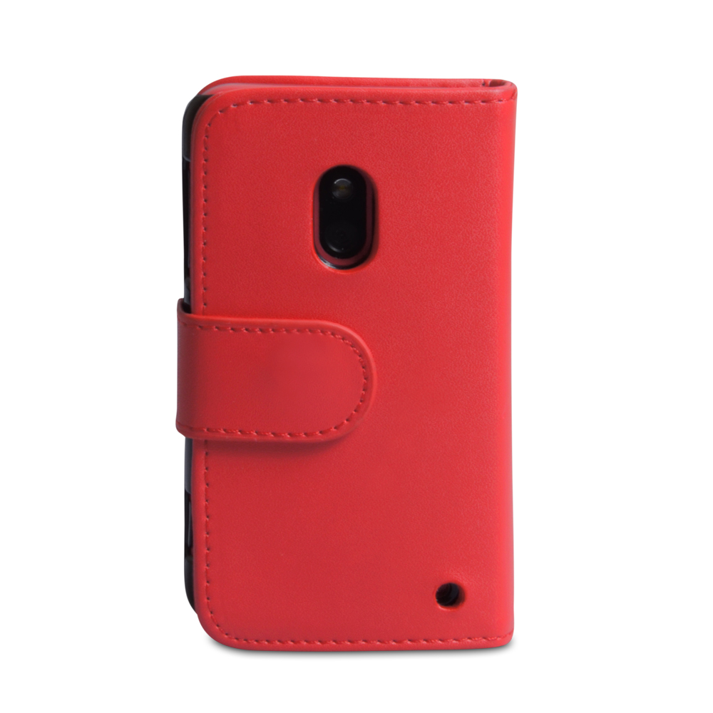 YouSave Accessories Nokia Lumia 620 Leather Effect Wallet Case - Red