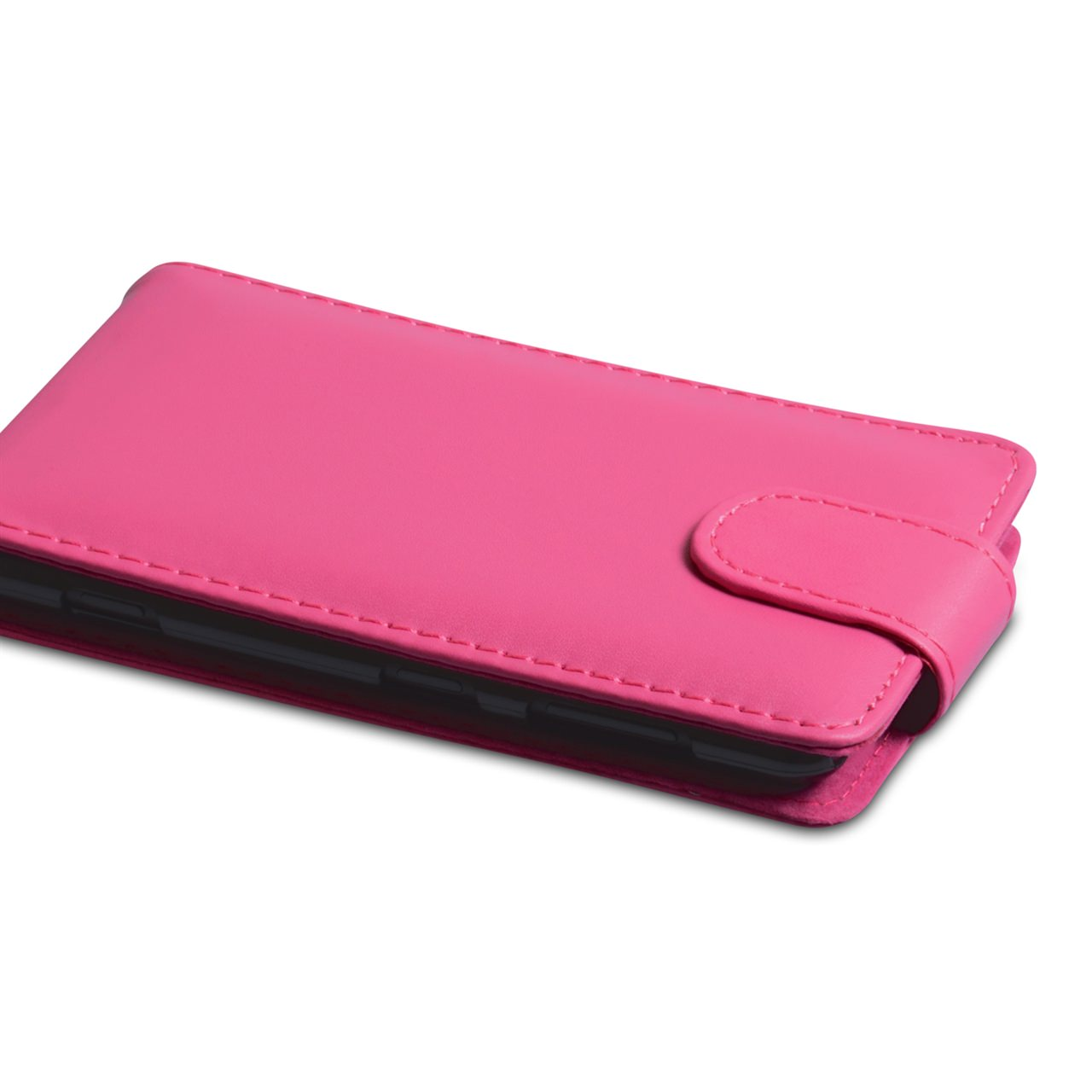 YouSave Nokia Lumia 625 Leather Effect Flip Case - Hot Pink