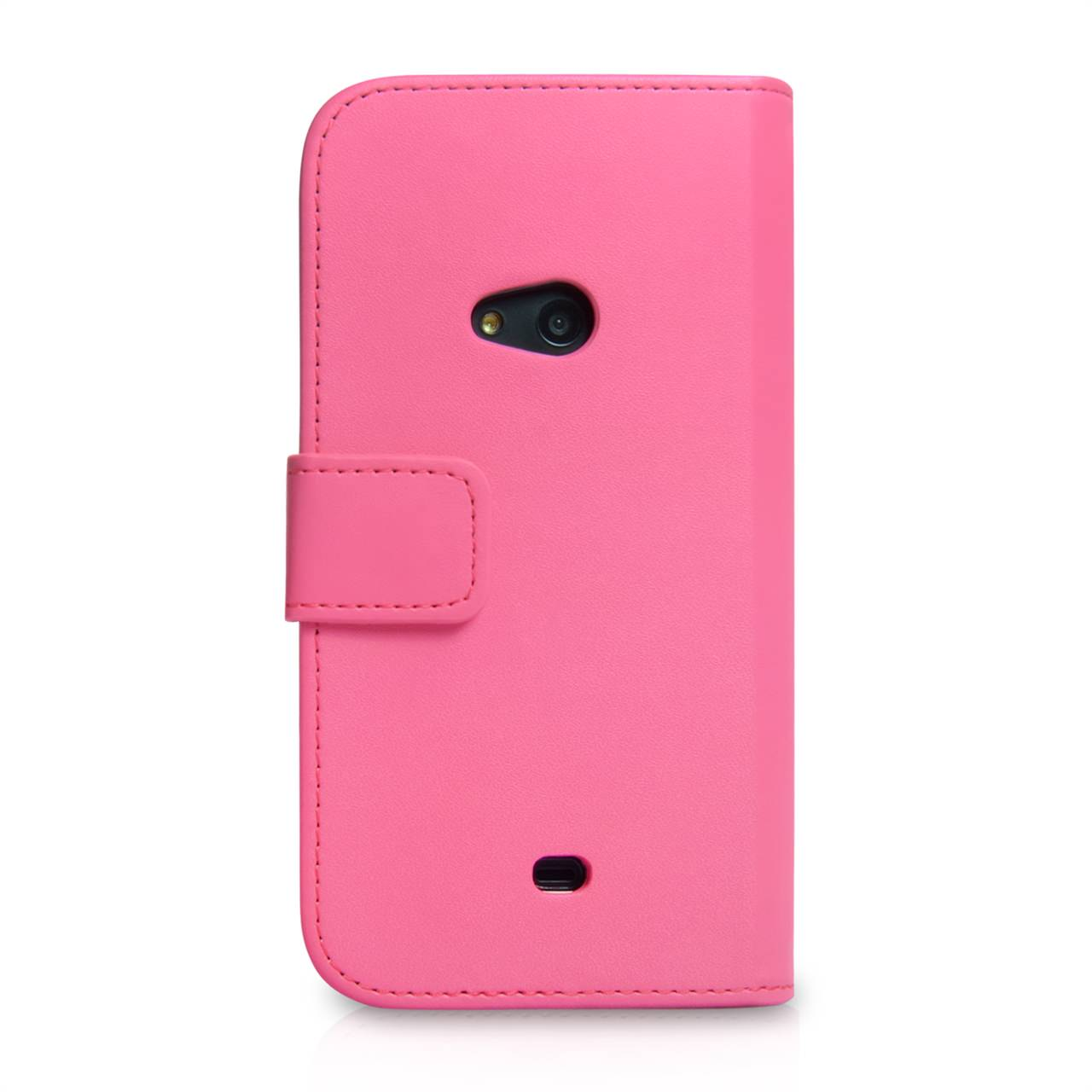 YouSave Nokia Lumia 625 Leather Effect Wallet Case - Hot Pink