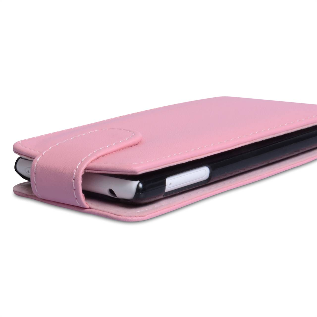 YouSave Nokia Lumia 720 Leather Effect Flip Case - Baby Pink