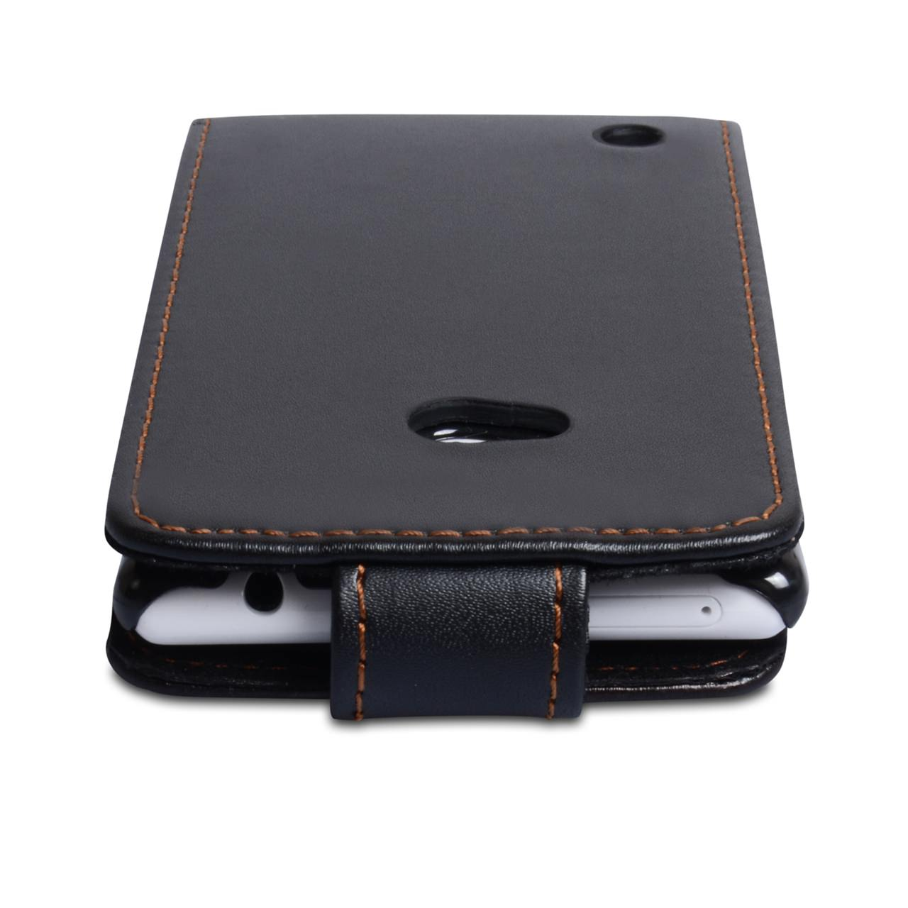 YouSave Accessories Nokia Lumia 720 Leather Effect Flip Case - Black