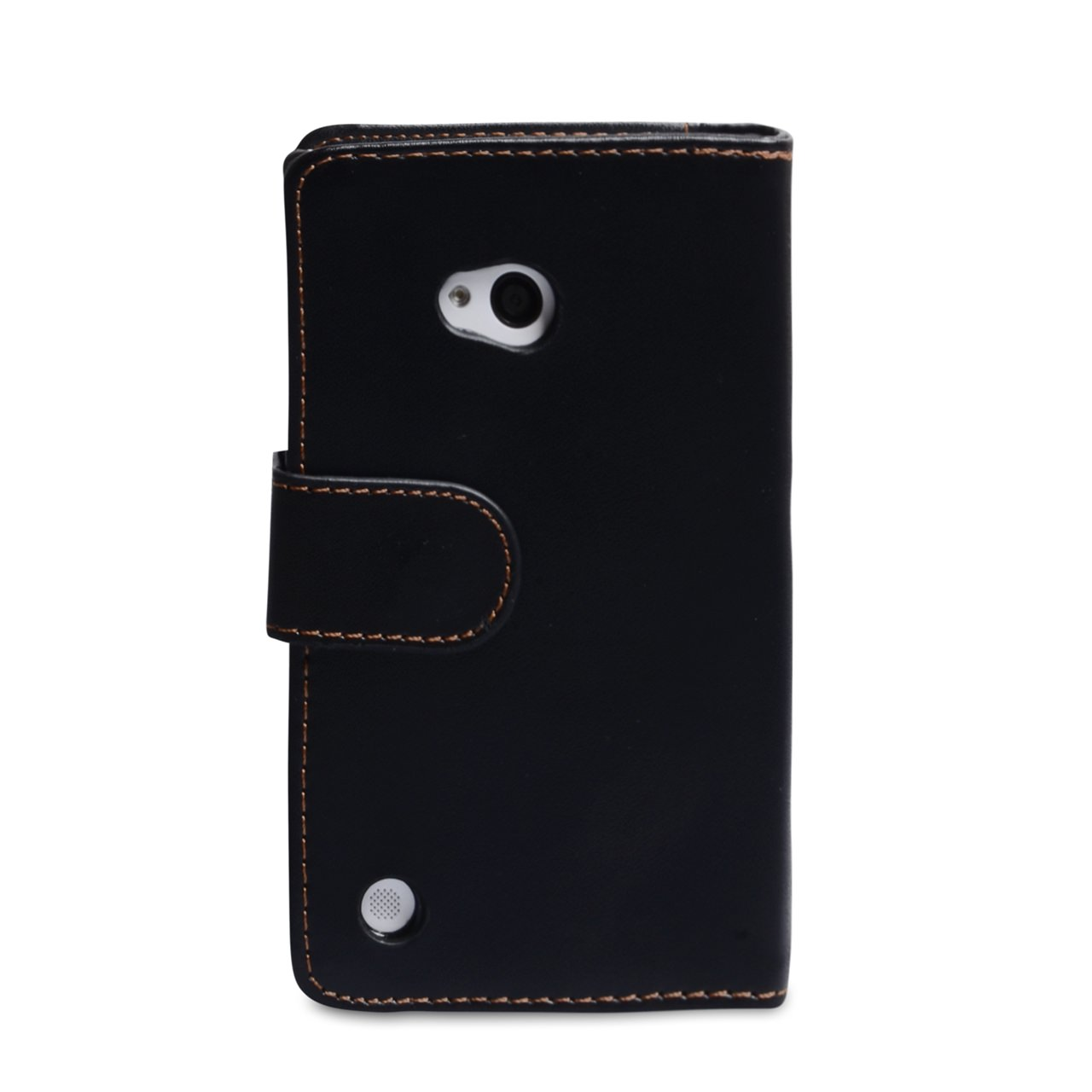 YouSave Accessories Nokia Lumia 720 Leather Effect Wallet Case - Black