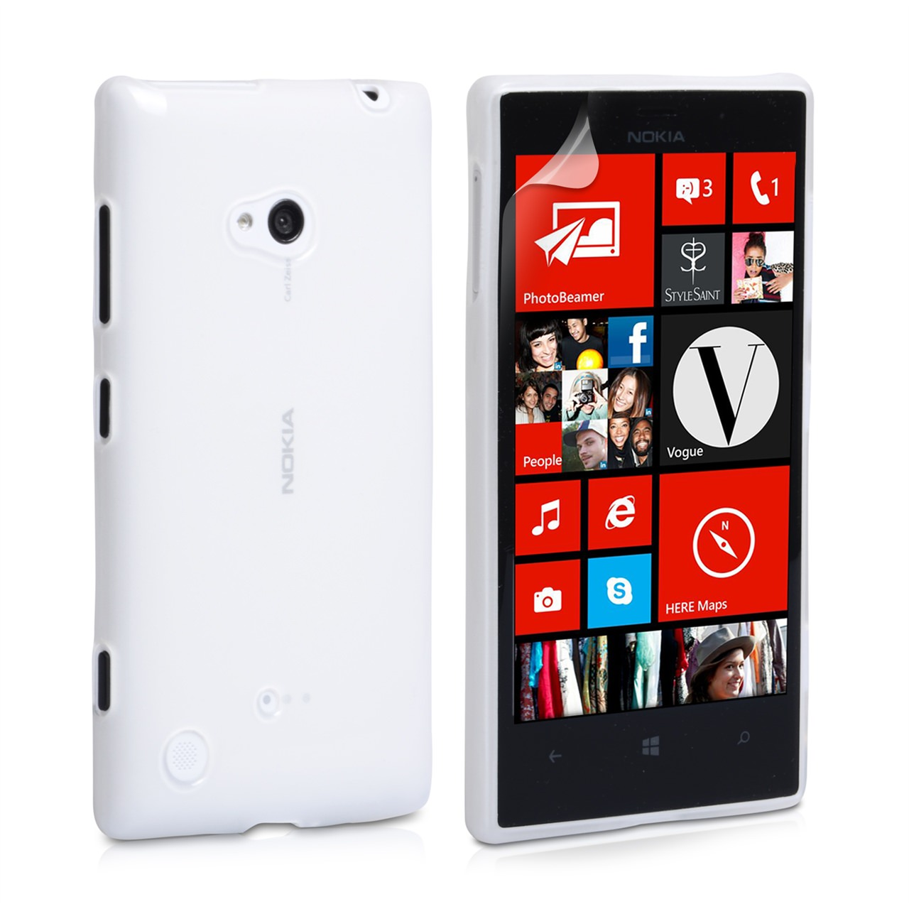 YouSave Accessories Nokia Lumia 720 Gel Case - Clear