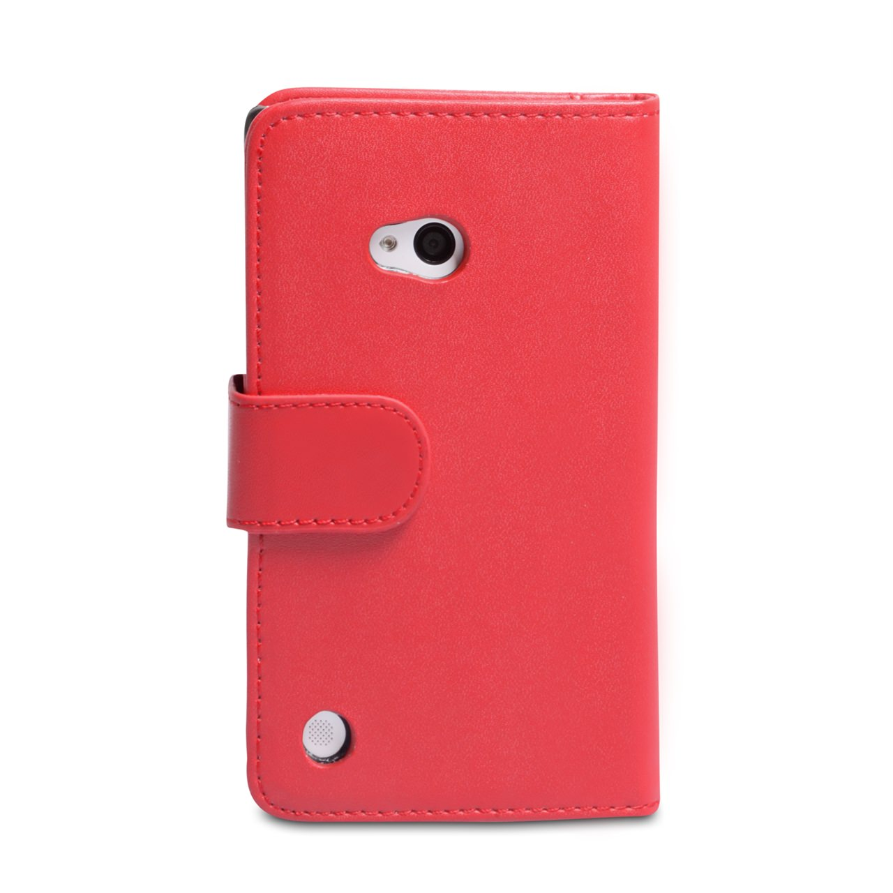 YouSave Accessories Nokia Lumia 720 Red Leather Effect Wallet Case