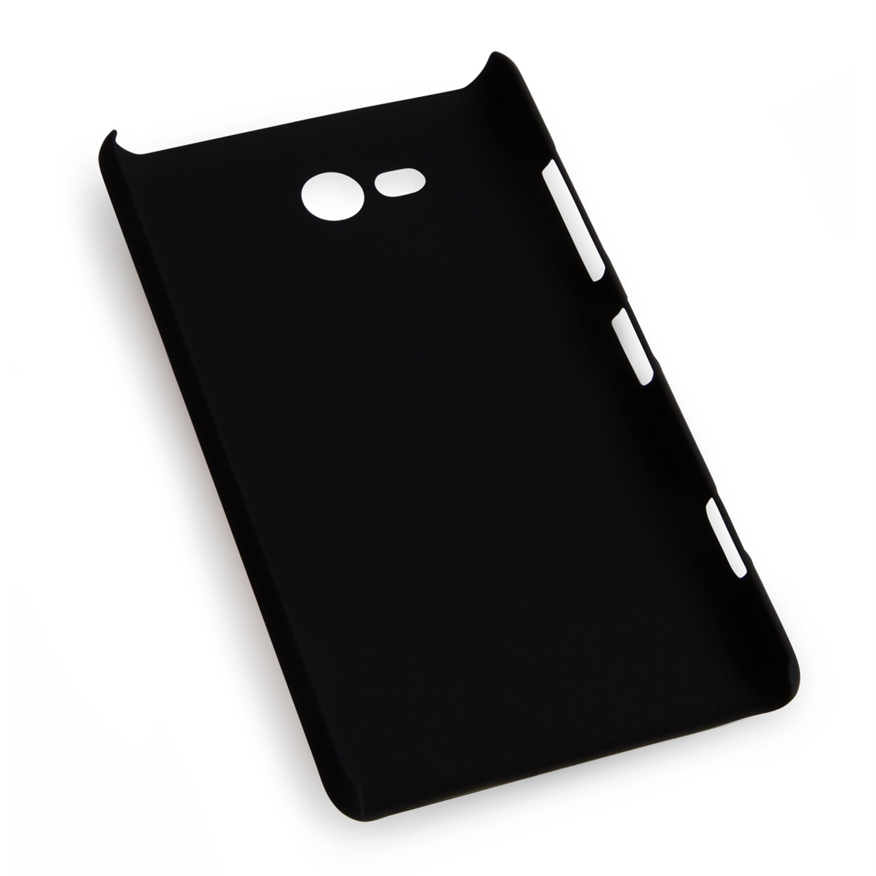 YouSave Accessories Nokia Lumia 820 Hybrid Hard Case - Black
