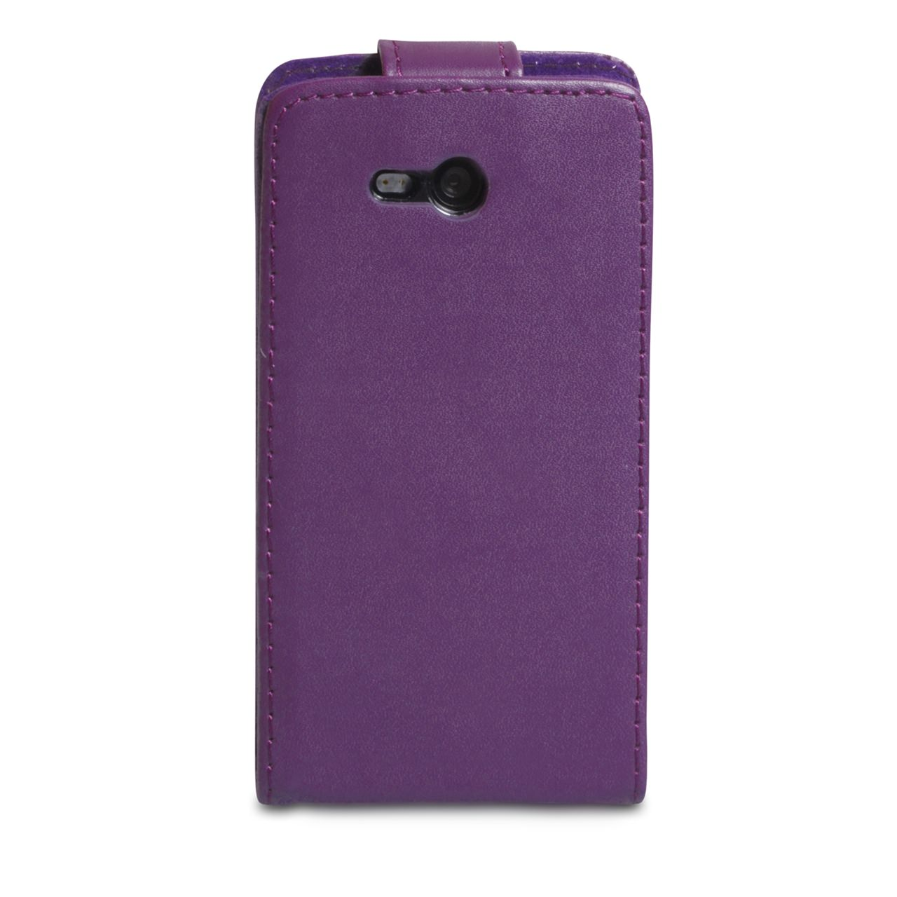 YouSave Accessories Nokia Lumia 820 Leather Effect Flip Case - Purple