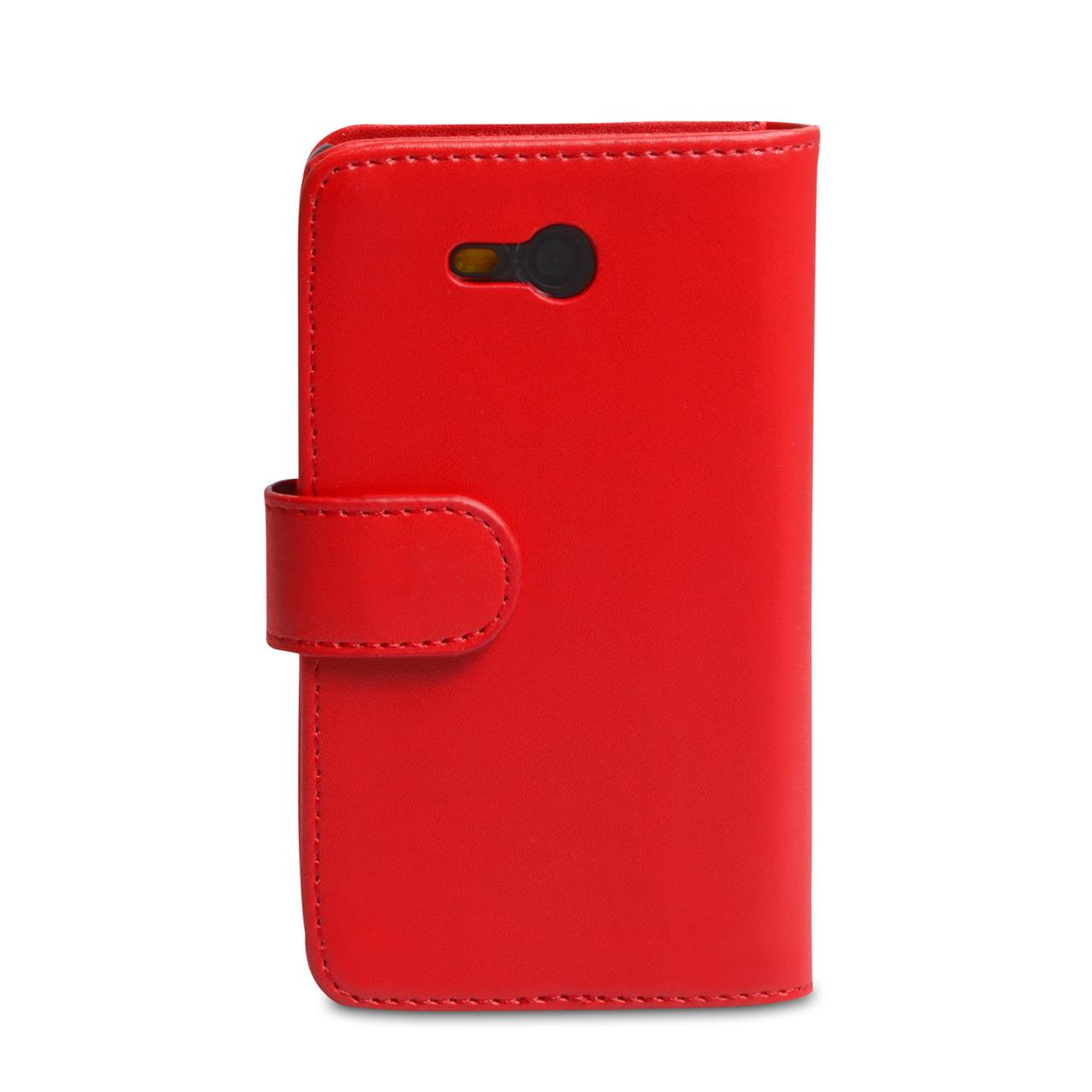YouSave Accessories Nokia Lumia 820 Leather Effect Wallet Case - Red