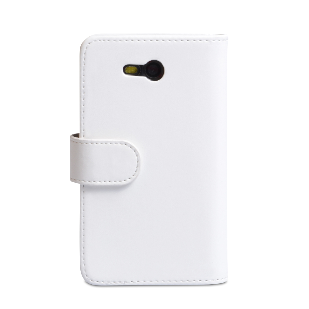 YouSave Accessories Nokia Lumia 820 Leather Effect Wallet Case - White