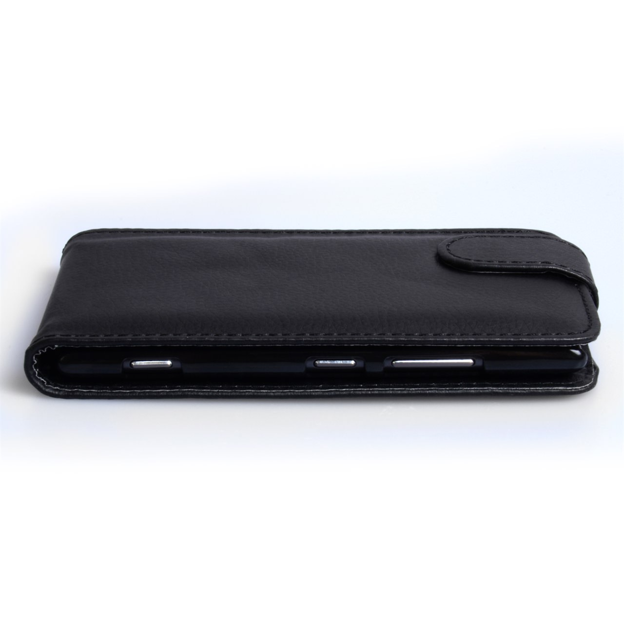 YouSave Accessories Nokia Lumia 925 Leather Effect Flip Case - Black