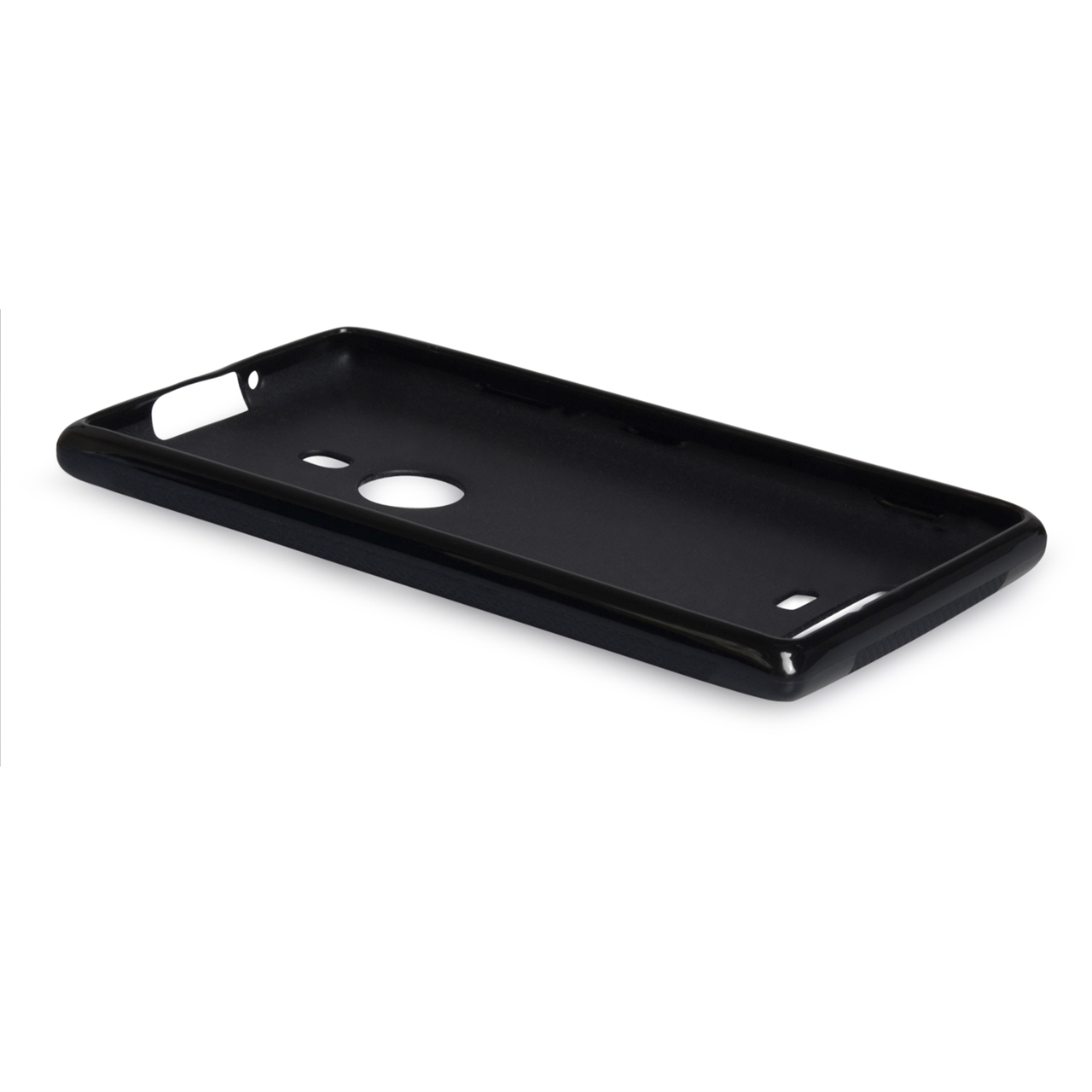 YouSave Accessories Nokia Lumia 925 X-Line Gel Case - Black
