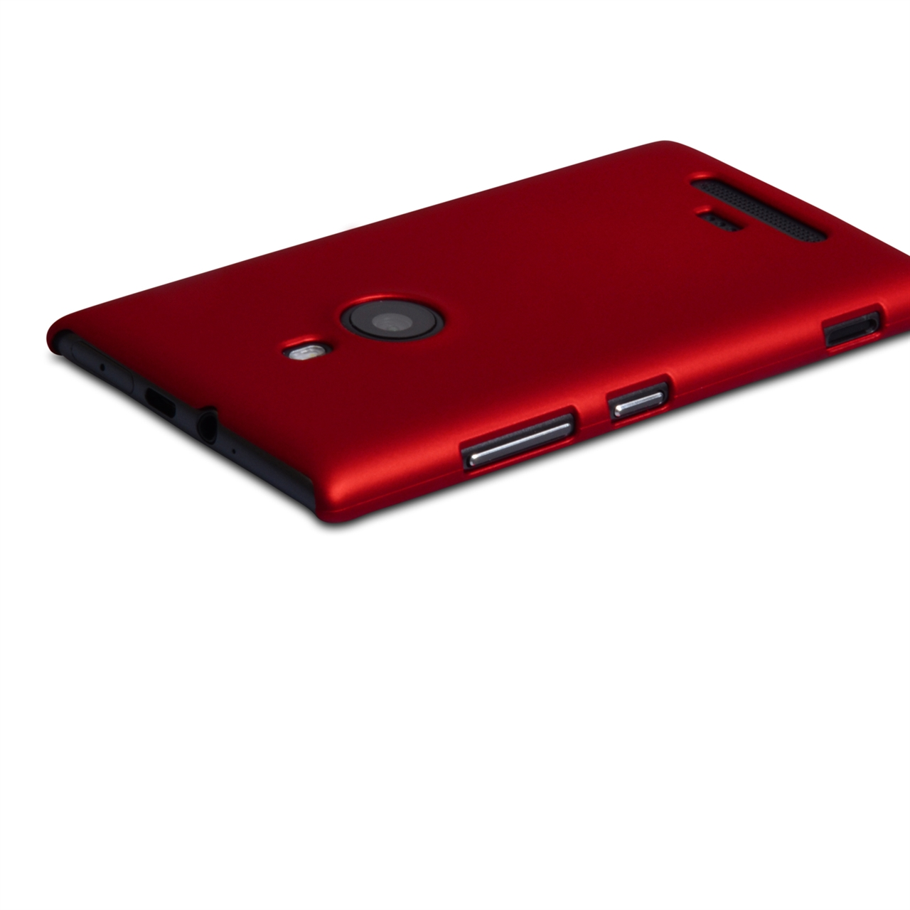 YouSave Accessories Nokia Lumia 925 Hard Hybrid Case - Red