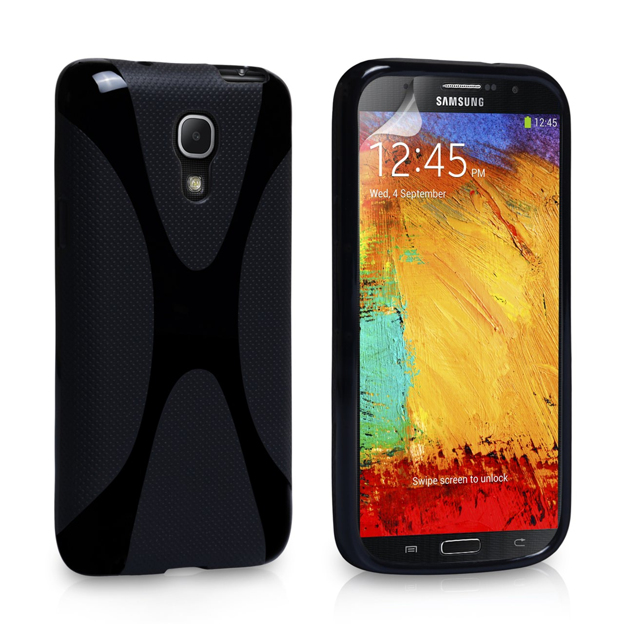 YouSave Accessories Samsung Galaxy Note 3 X-Line Gel Case - Black