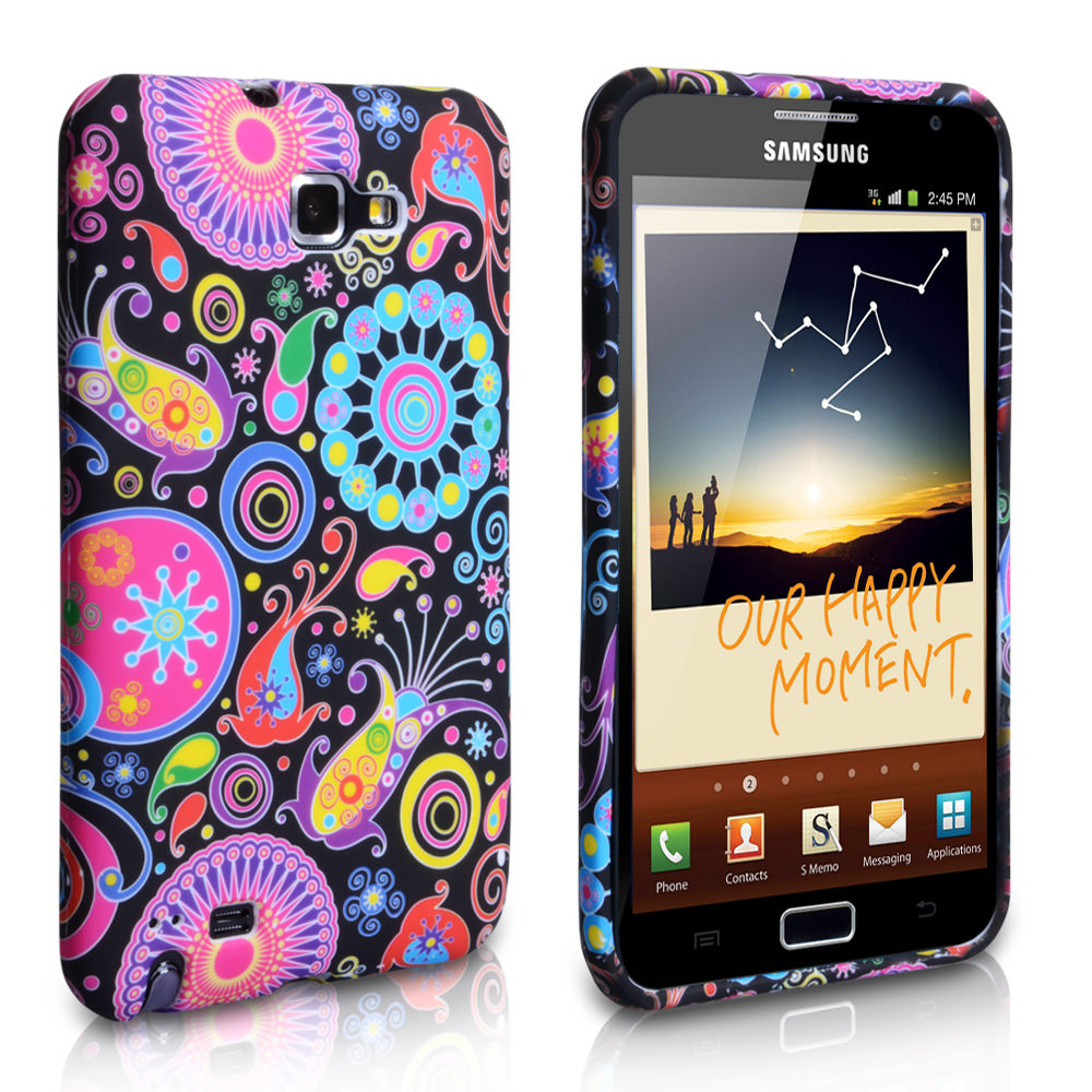 YouSave Accessories Samsung Galaxy Note Jellyfish Silicone Gel Case
