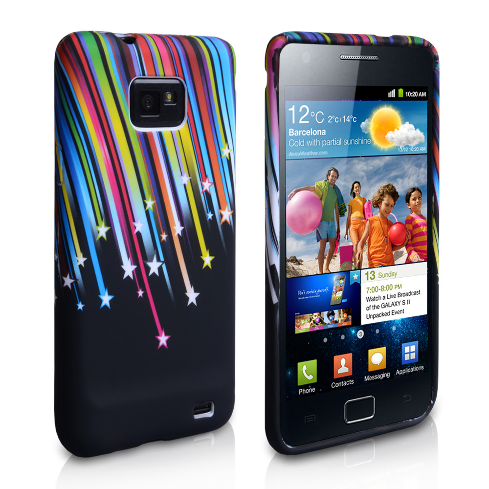 YouSave Accessories Samsung Galaxy S2 Shooting Stars Gel Case