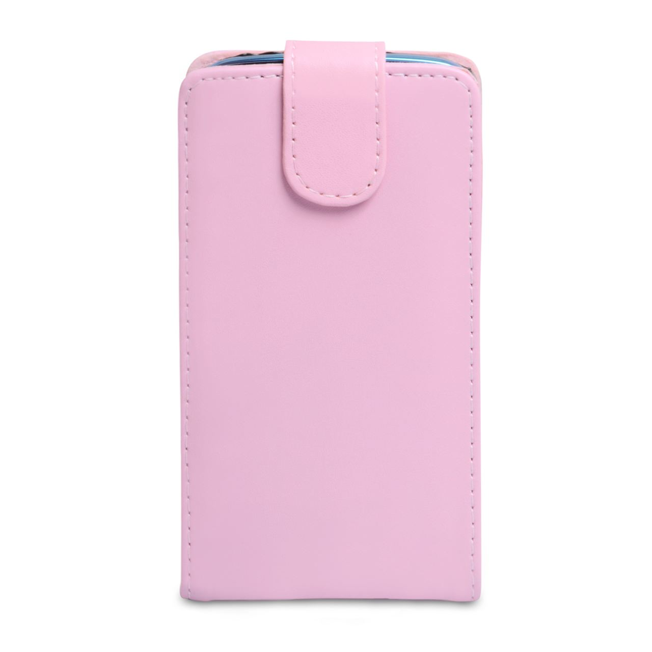 YouSave Samsung Galaxy S4 Active Leather Effect Flip Case - Baby Pink