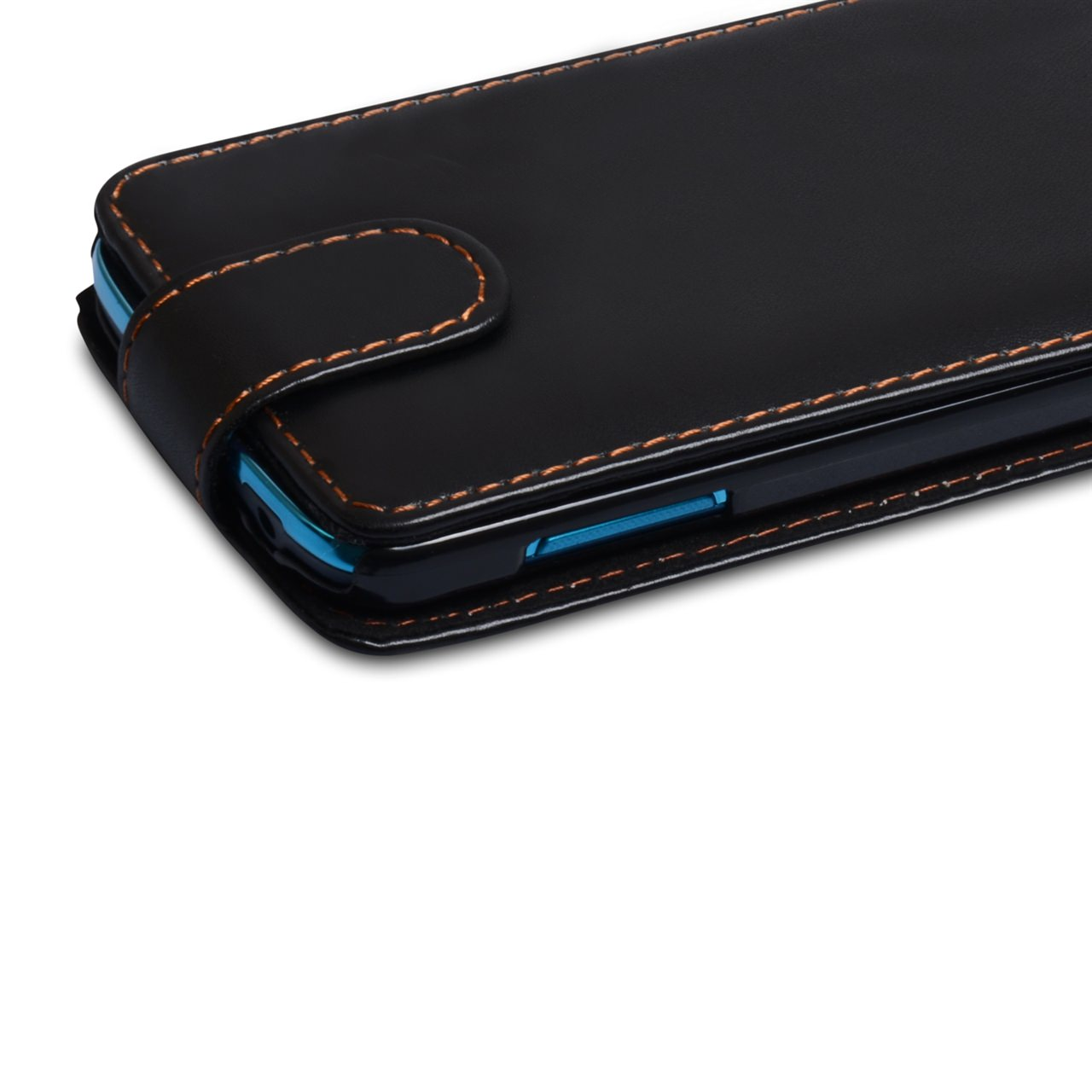 YouSave Samsung Galaxy S4 Active Leather Effect Flip Case - Black