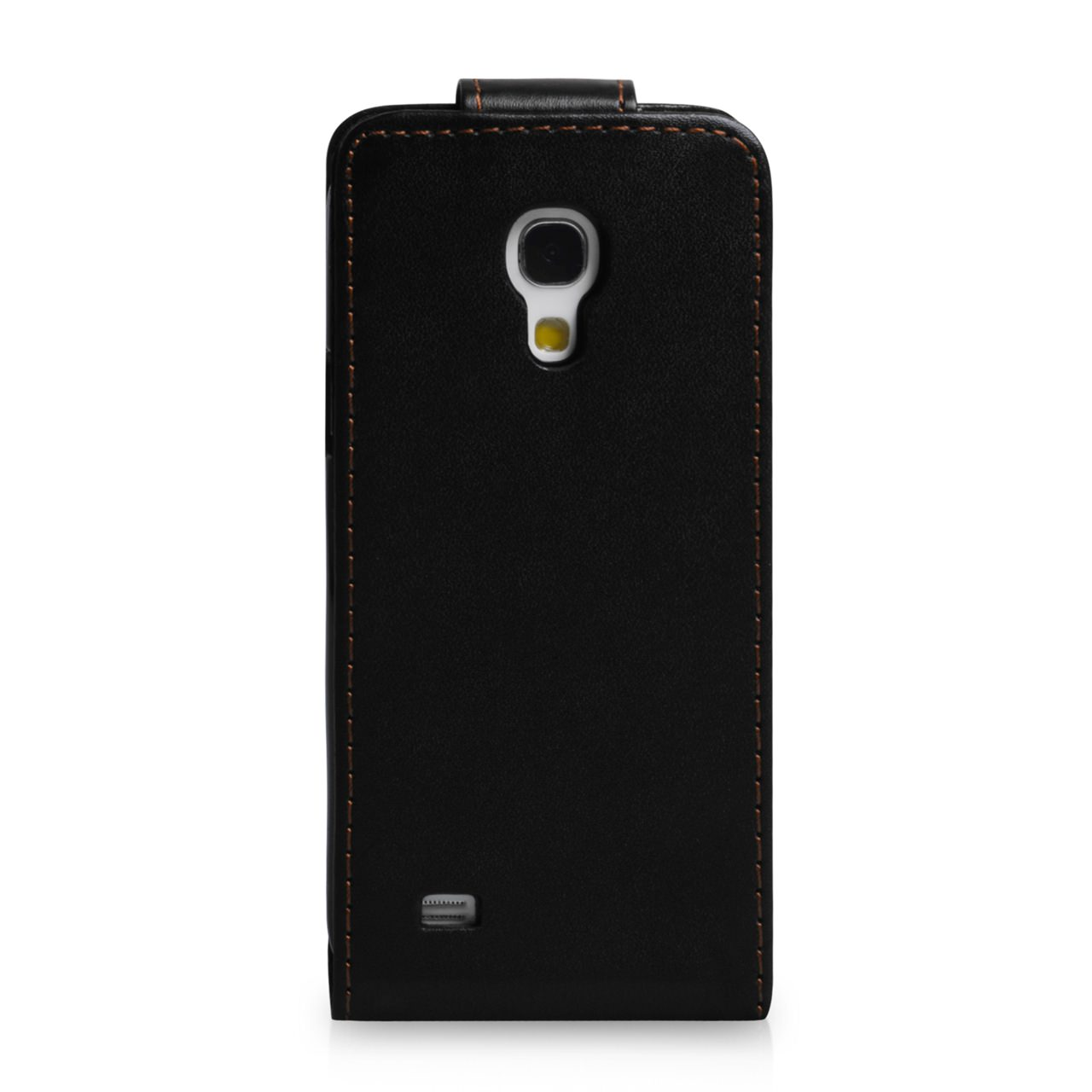YouSave Samsung Galaxy S4 Mini Black Leather Effect Flip Case
