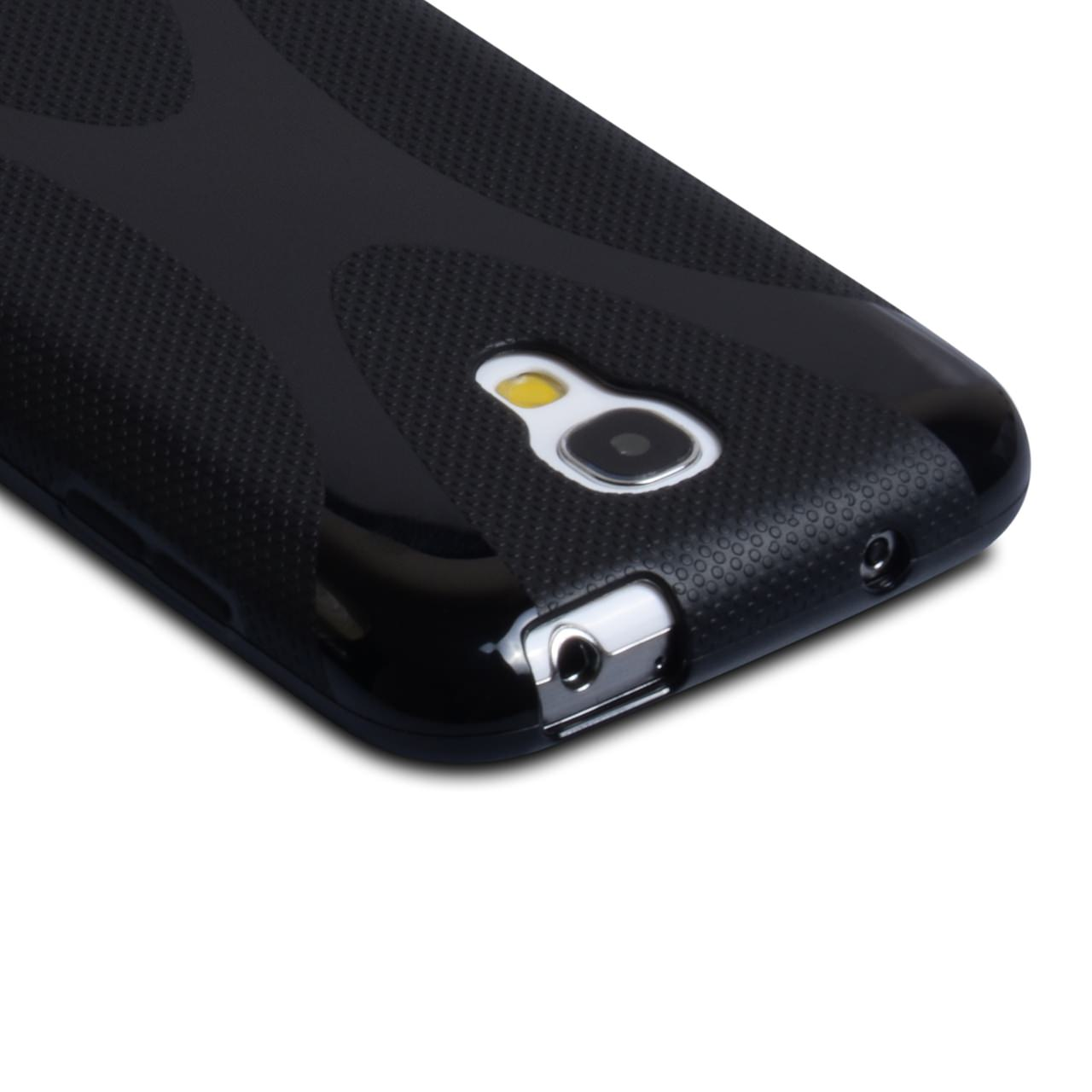 YouSave Accessories Samsung Galaxy S4 Mini Black X-Line Gel Case