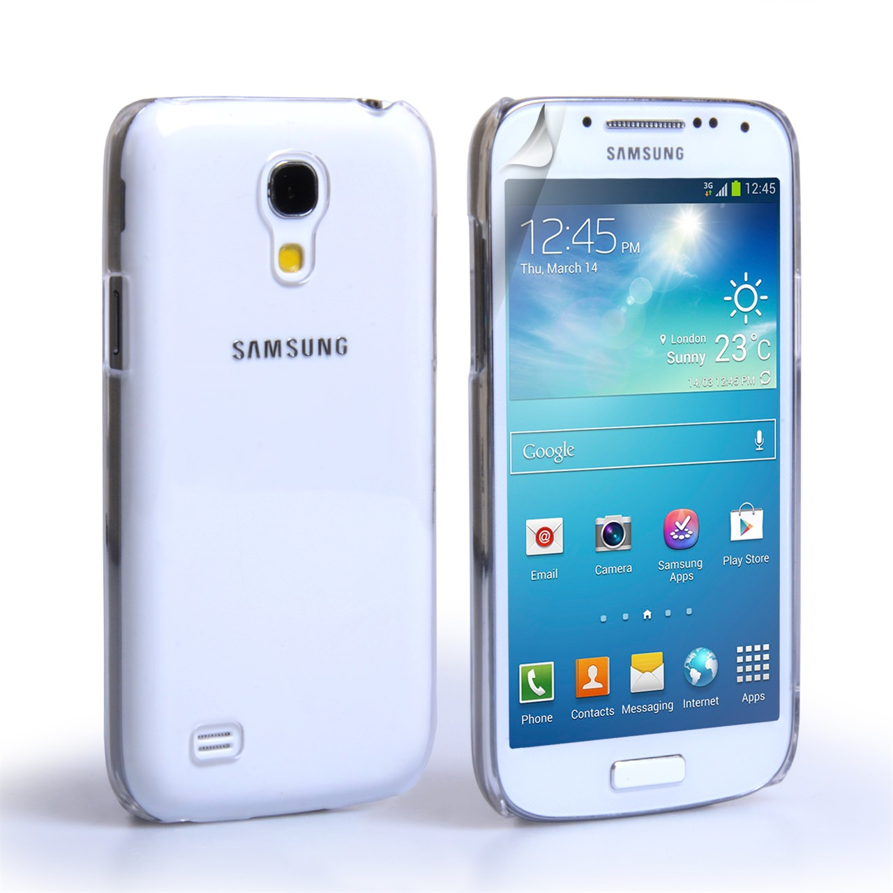YouSave Accessories Samsung Galaxy S4 Mini Clear Hard Case