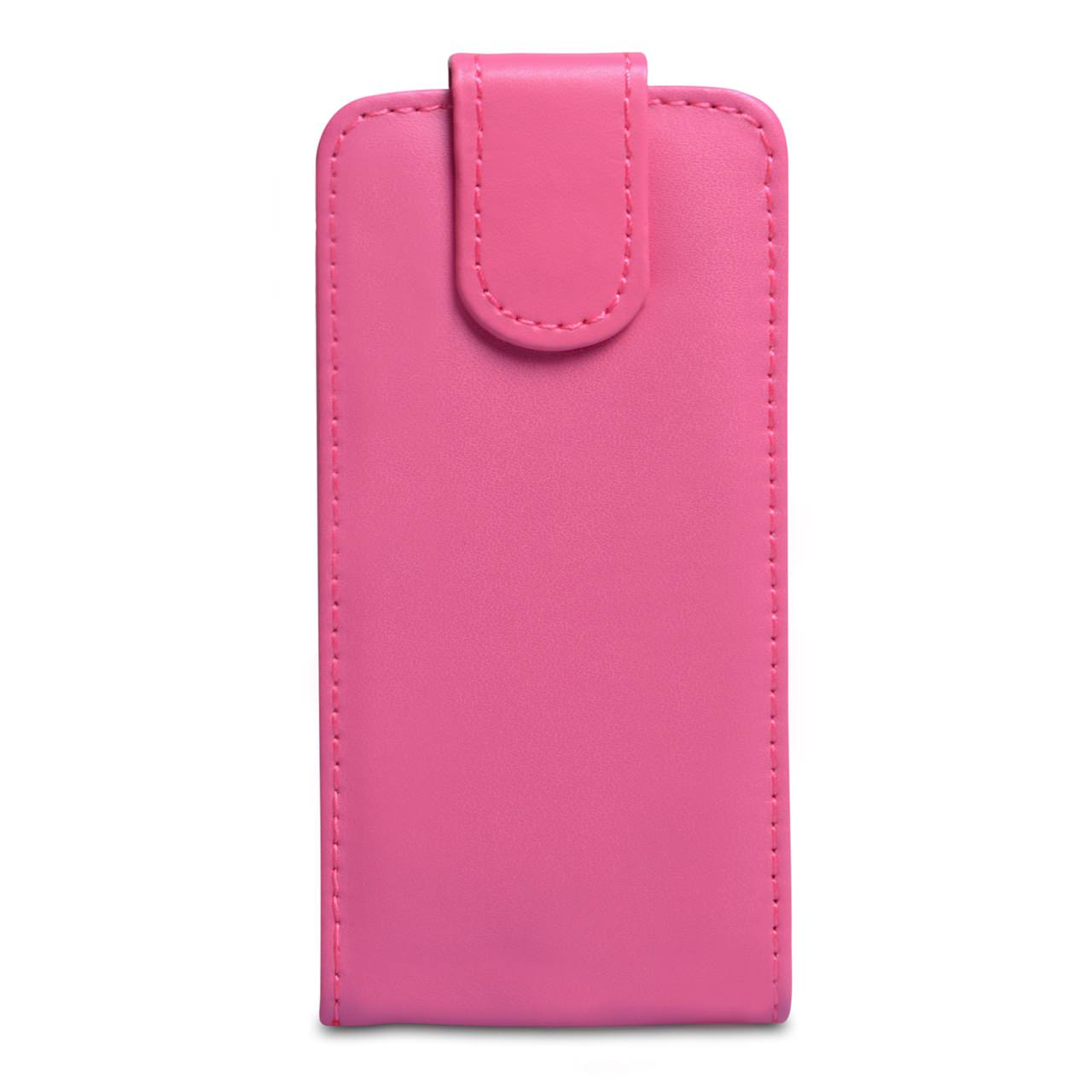 YouSave Samsung Galaxy S4 Mini Hot Pink Leather Effect Flip Case