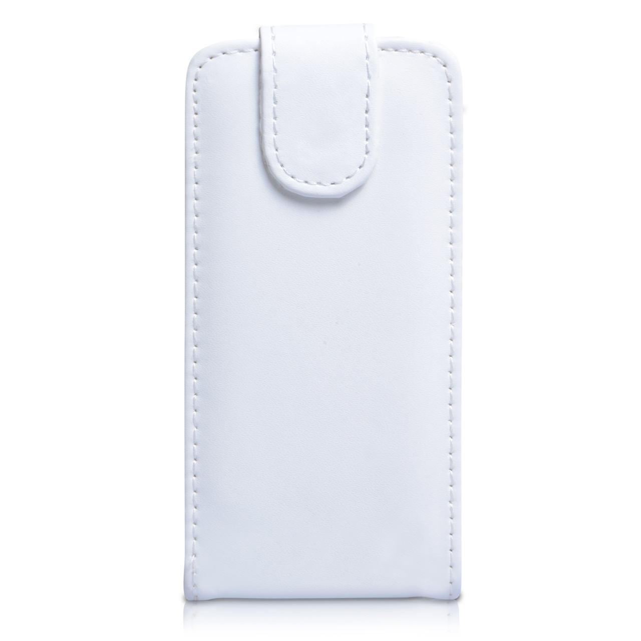 YouSave Samsung Galaxy S4 Mini Leather Effect Flip Case - White