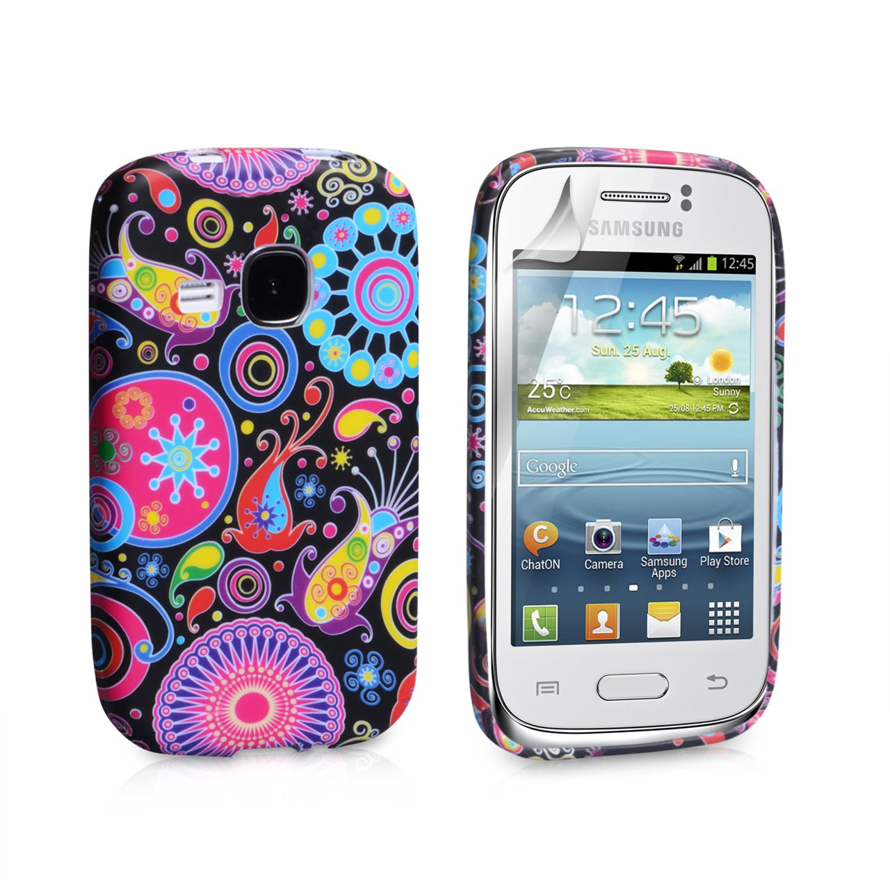 YouSave Accessories Samsung Galaxy Young Jellyfish Gel Case