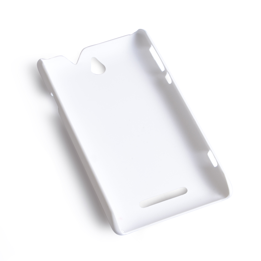 YouSave Accessories Sony Xperia E Hard Hybrid Case - White