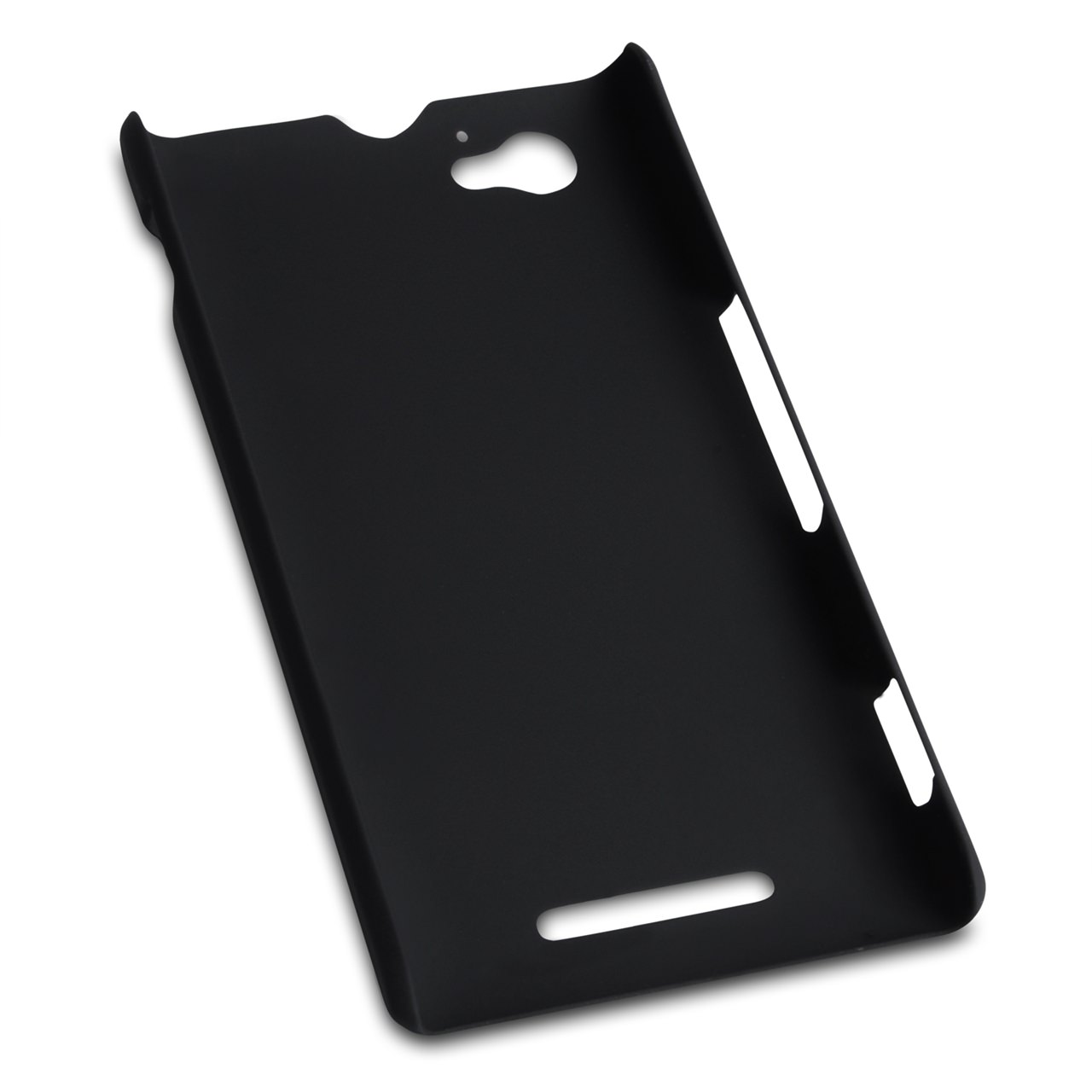 YouSave Accessories Sony Xperia M Hard Hybrid Case - Black