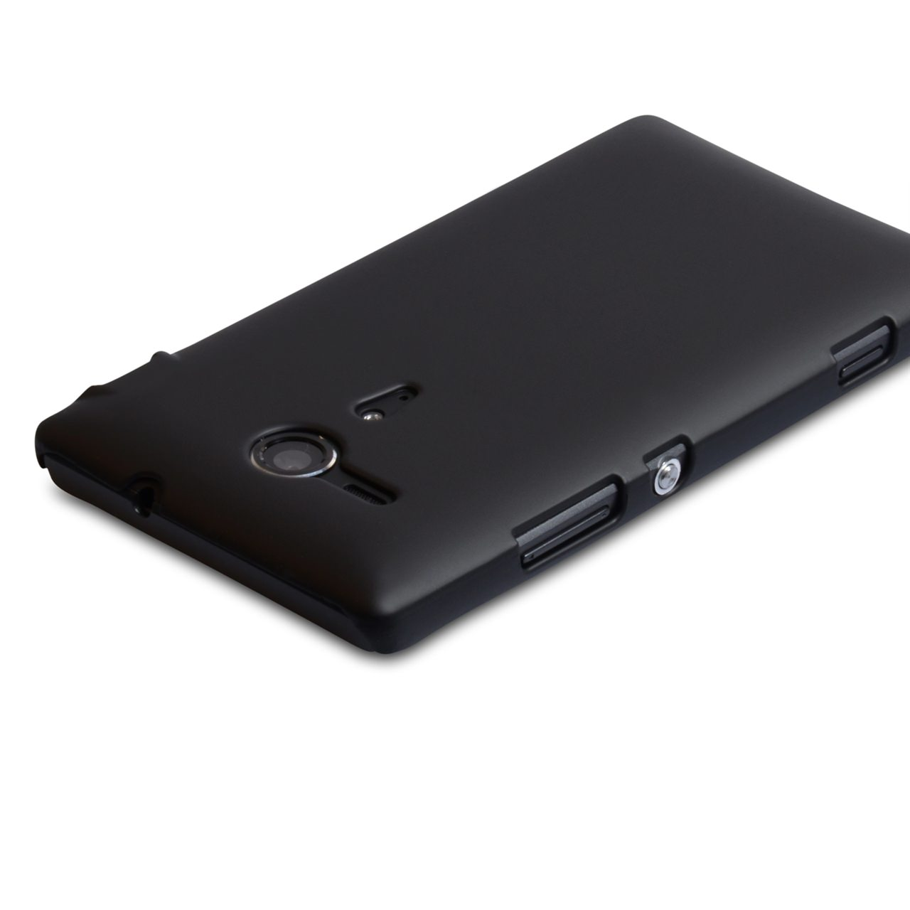 YouSave Accessories Sony Xperia SP Hard Hybrid Case - Black