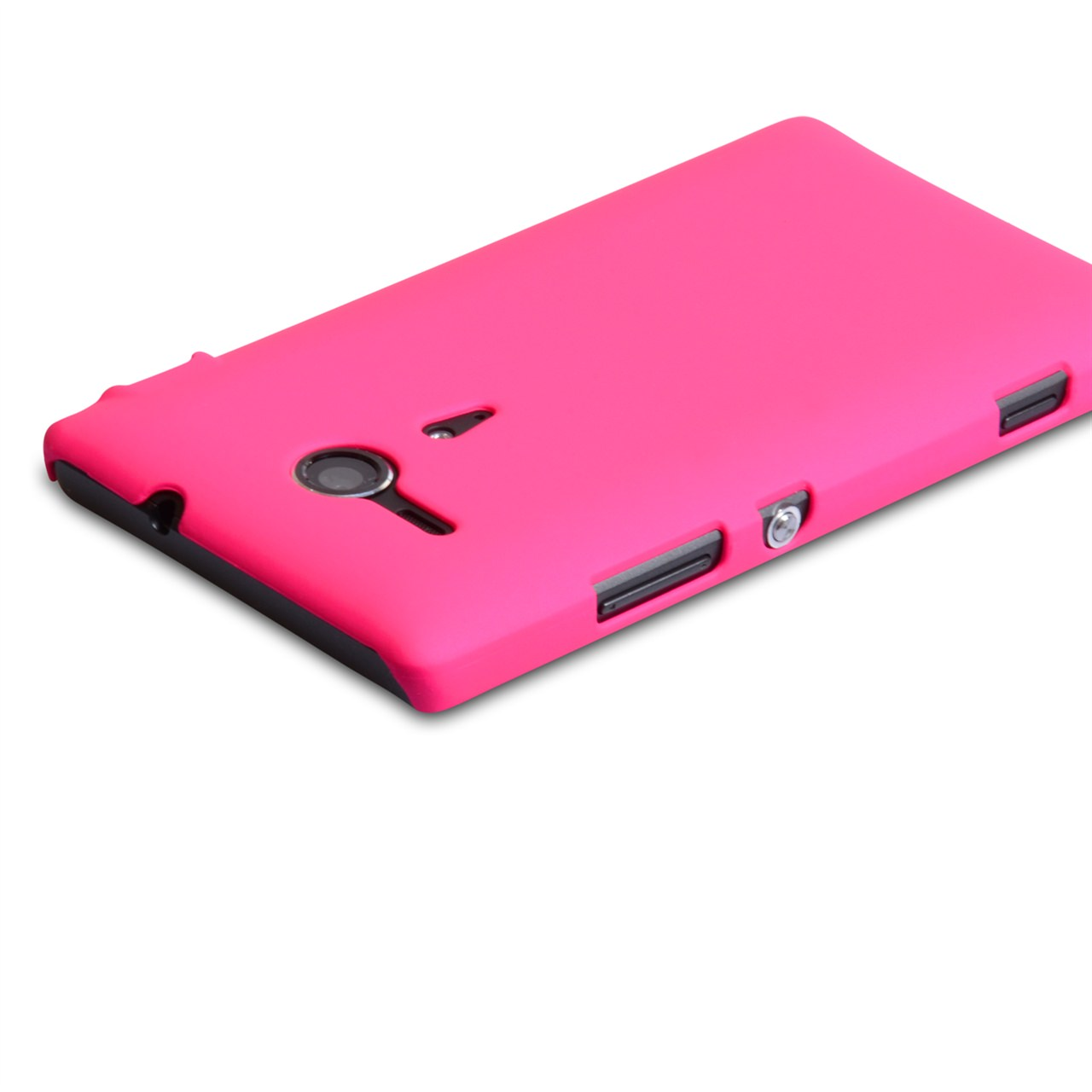 YouSave Accessories Sony Xperia SP Hard Hybrid Case - Hot Pink