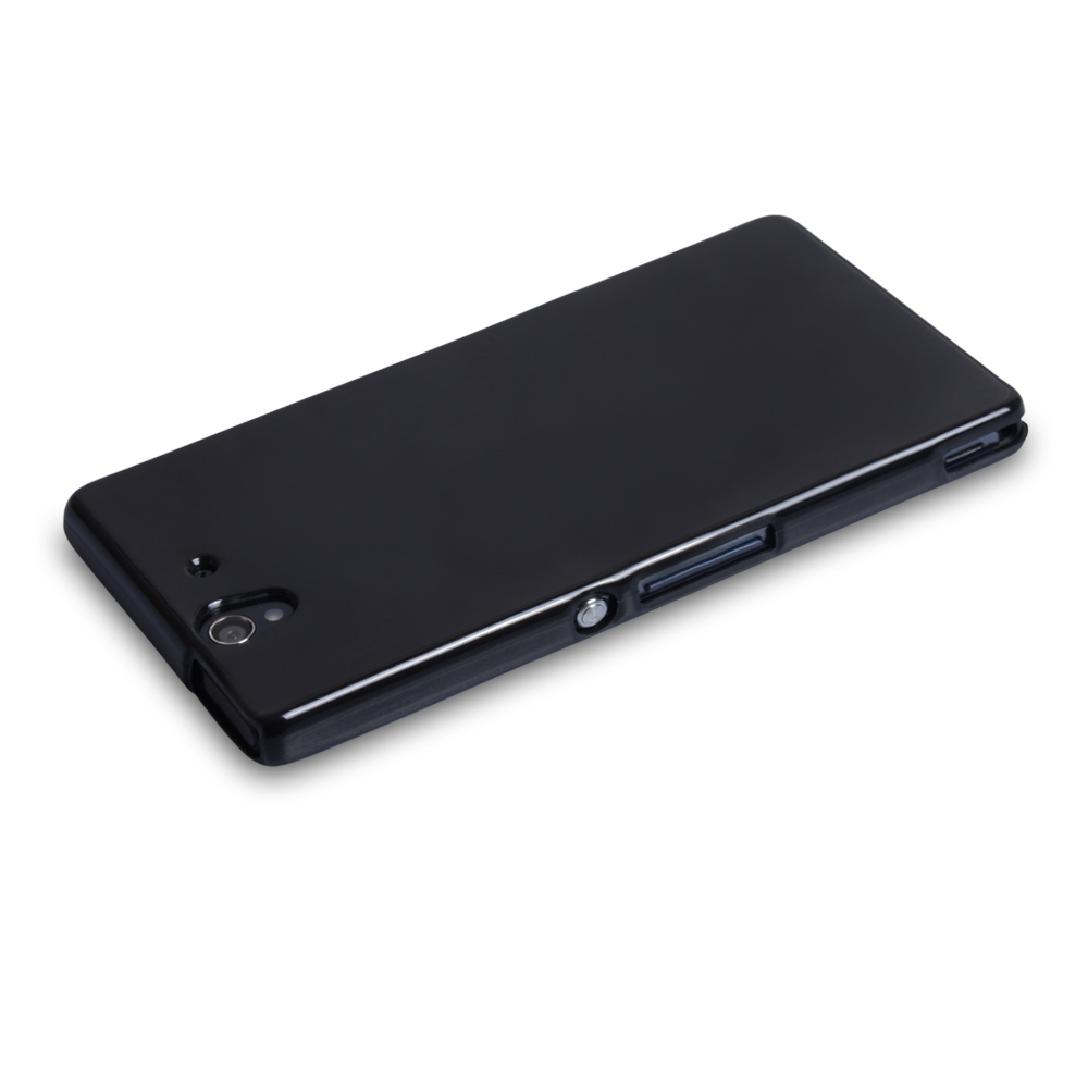 YouSave Accessories Sony Xperia Z Gel Case - Black