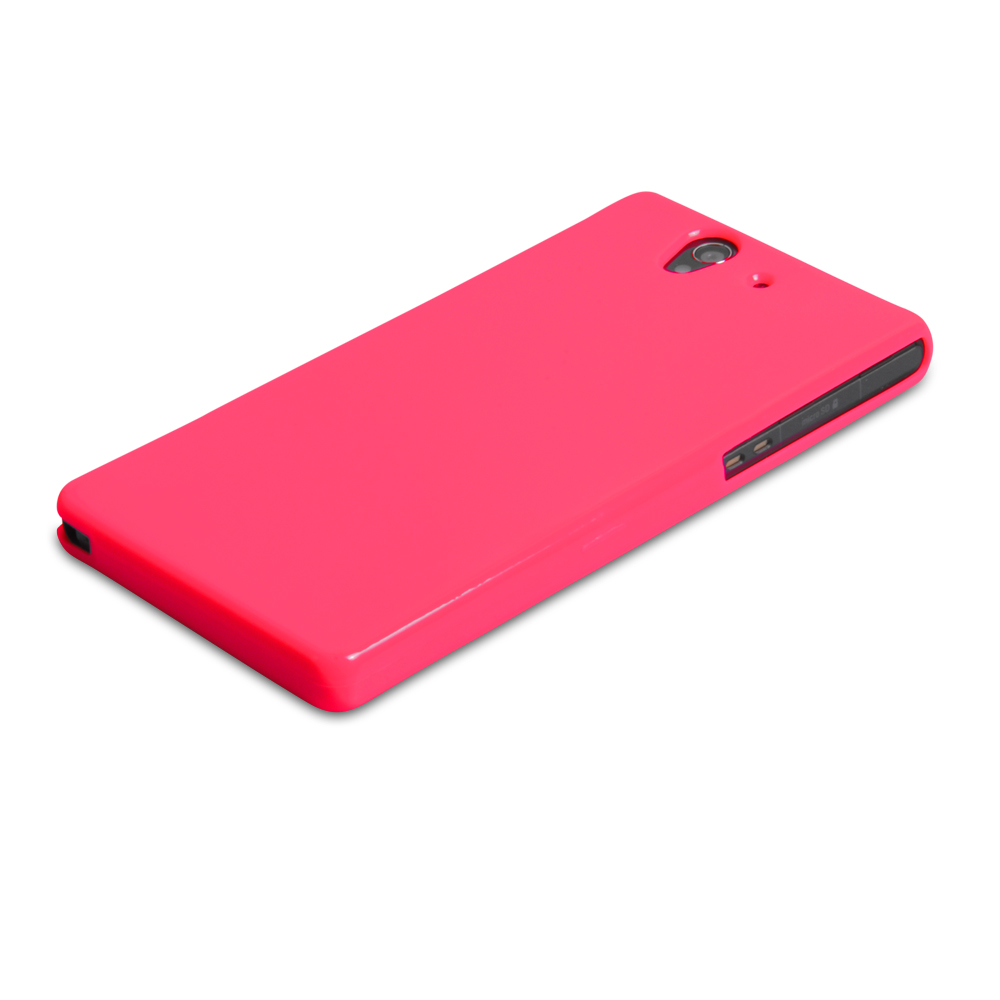 YouSave Accessories Sony Xperia Z Gel Case - Pink