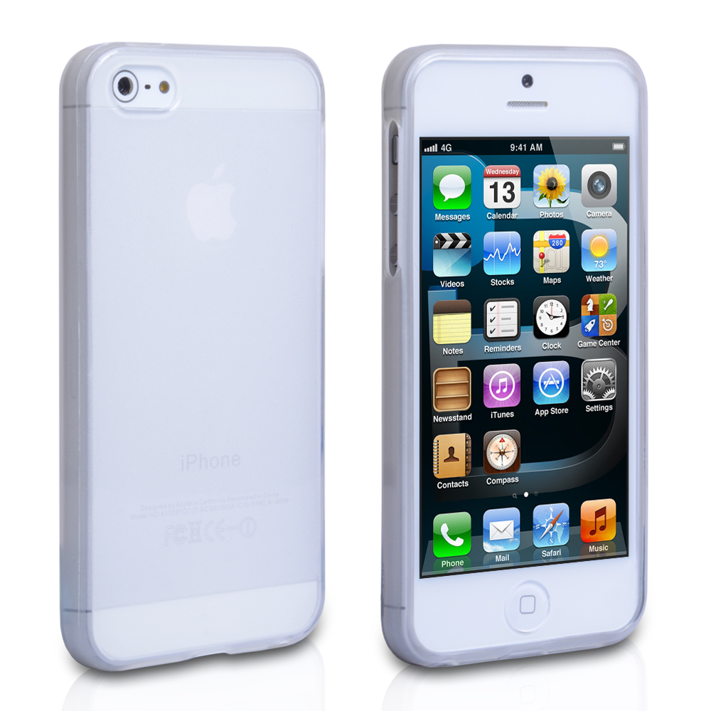 YouSave Accessories iPhone 5 / 5S Silicone Gel Case Clear