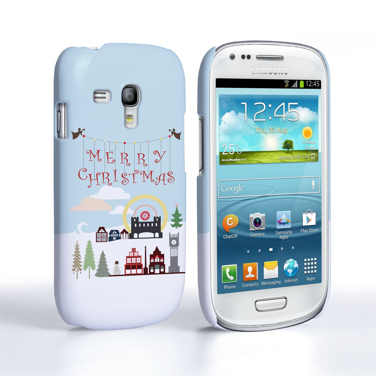 Samsung Galaxy S3 Mini Merry Christmas Case