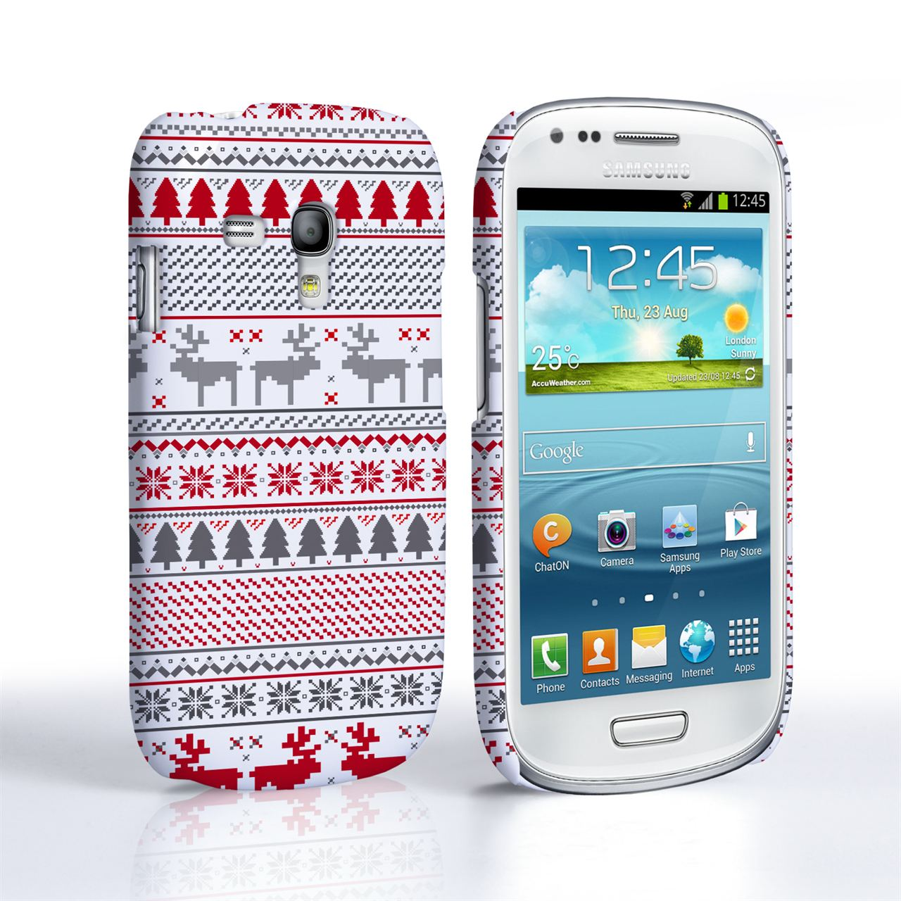 Samsung Galaxy S3 Mini Reindeer Christmas Jumper Case