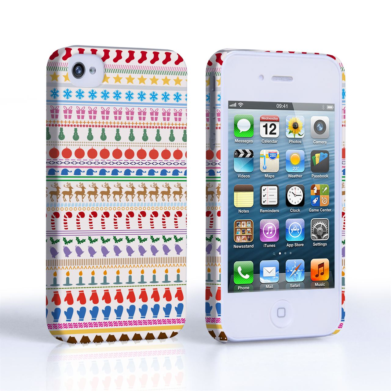 Caseflex iPhone 4 / 4S Christmas Case