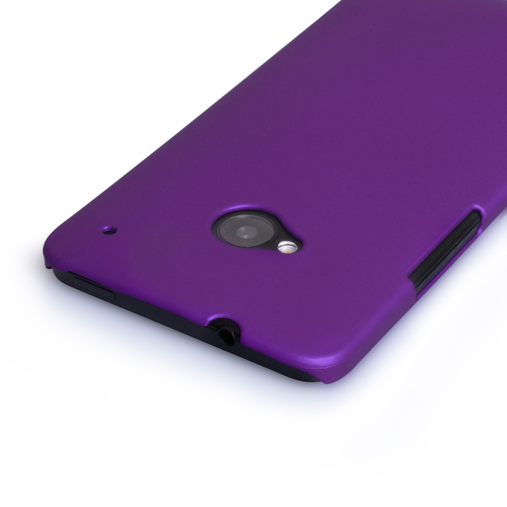 YouSave Accessories HTC One Hard Hybrid Case - Purple
