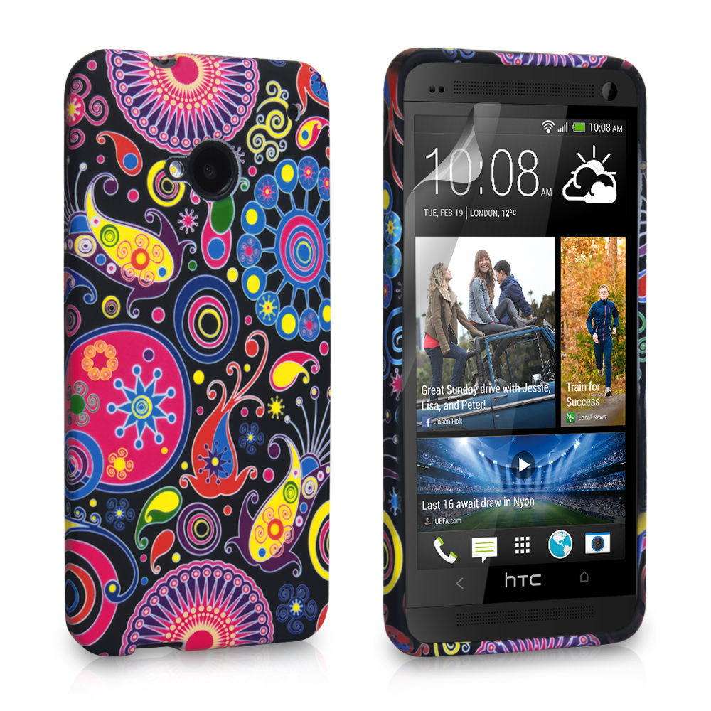 YouSave Accessories HTC One Jellyfish Silicone Gel Case