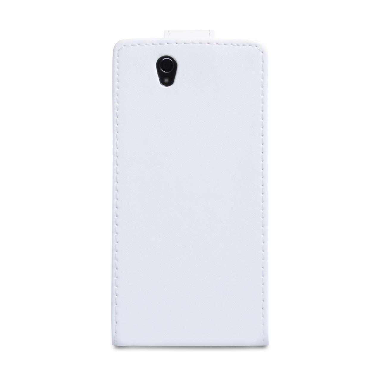 YouSave Accessories Sony Xperia Z Leather Effect Flip Case - White