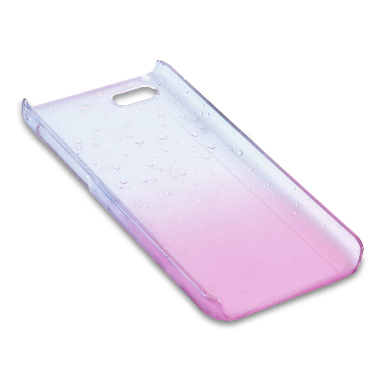 YouSave Accessories iPhone 5C Raindrop Hard Case - Baby Pink