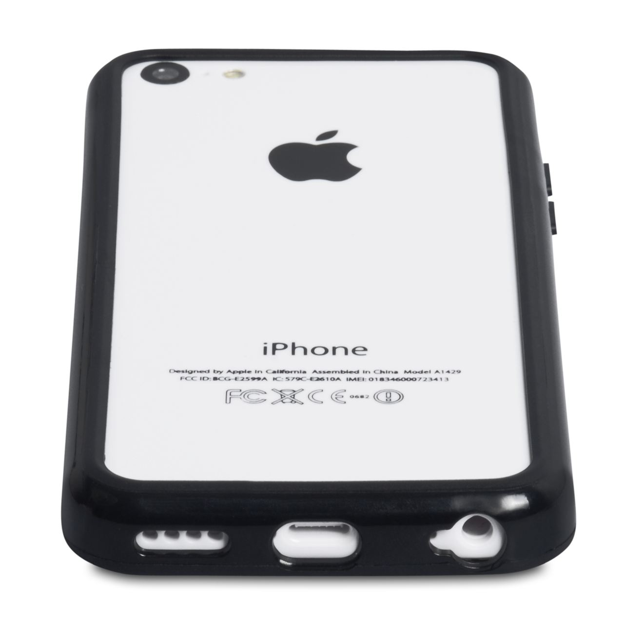 YouSave Accessories iPhone 5C Bumper Case - Black