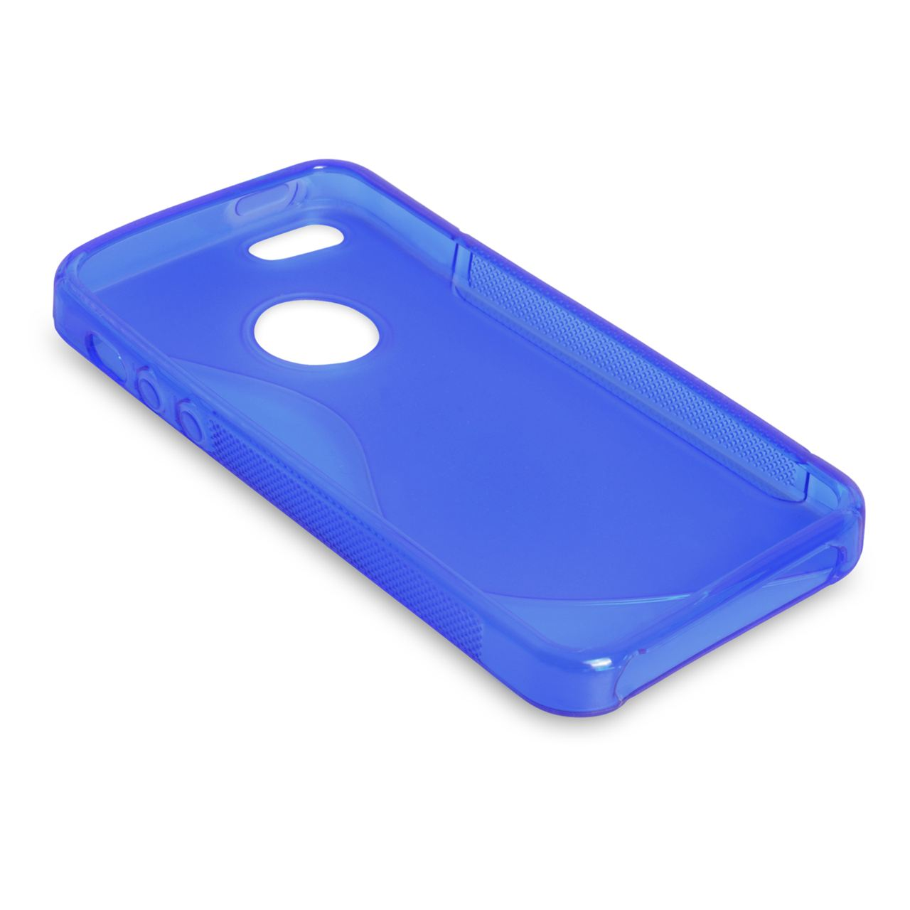 Caseflex  iPhone 5 / 5S Caseflex S-Line Gel Case - Blue