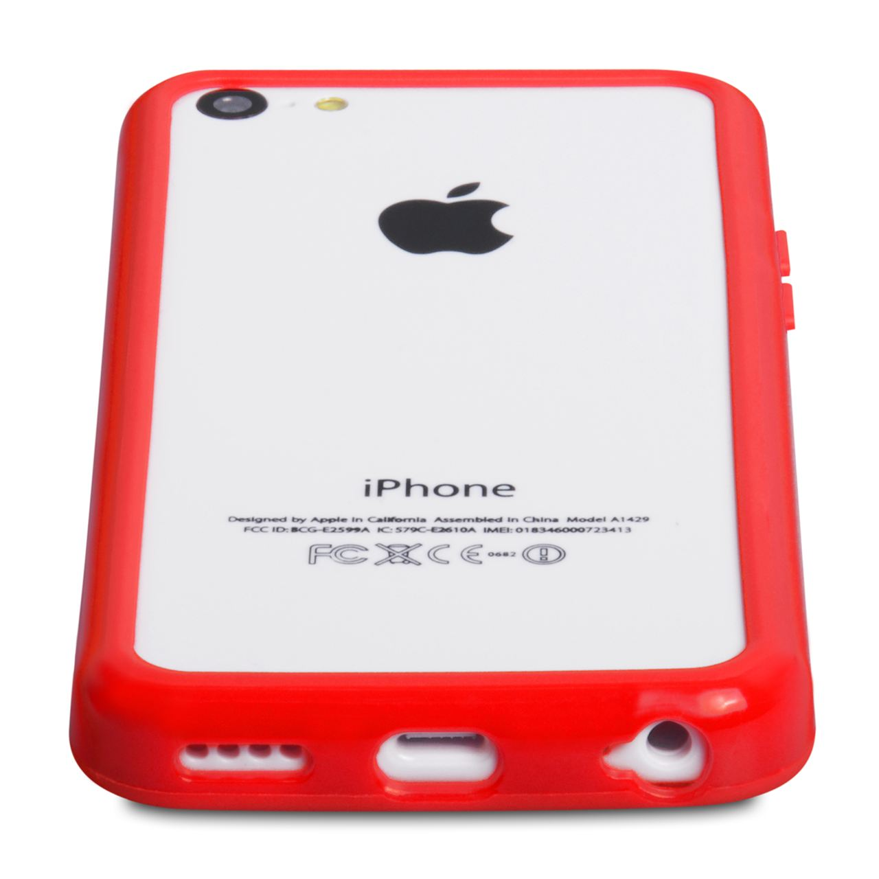 YouSave Accessories iPhone 5C Bumper Case - Red